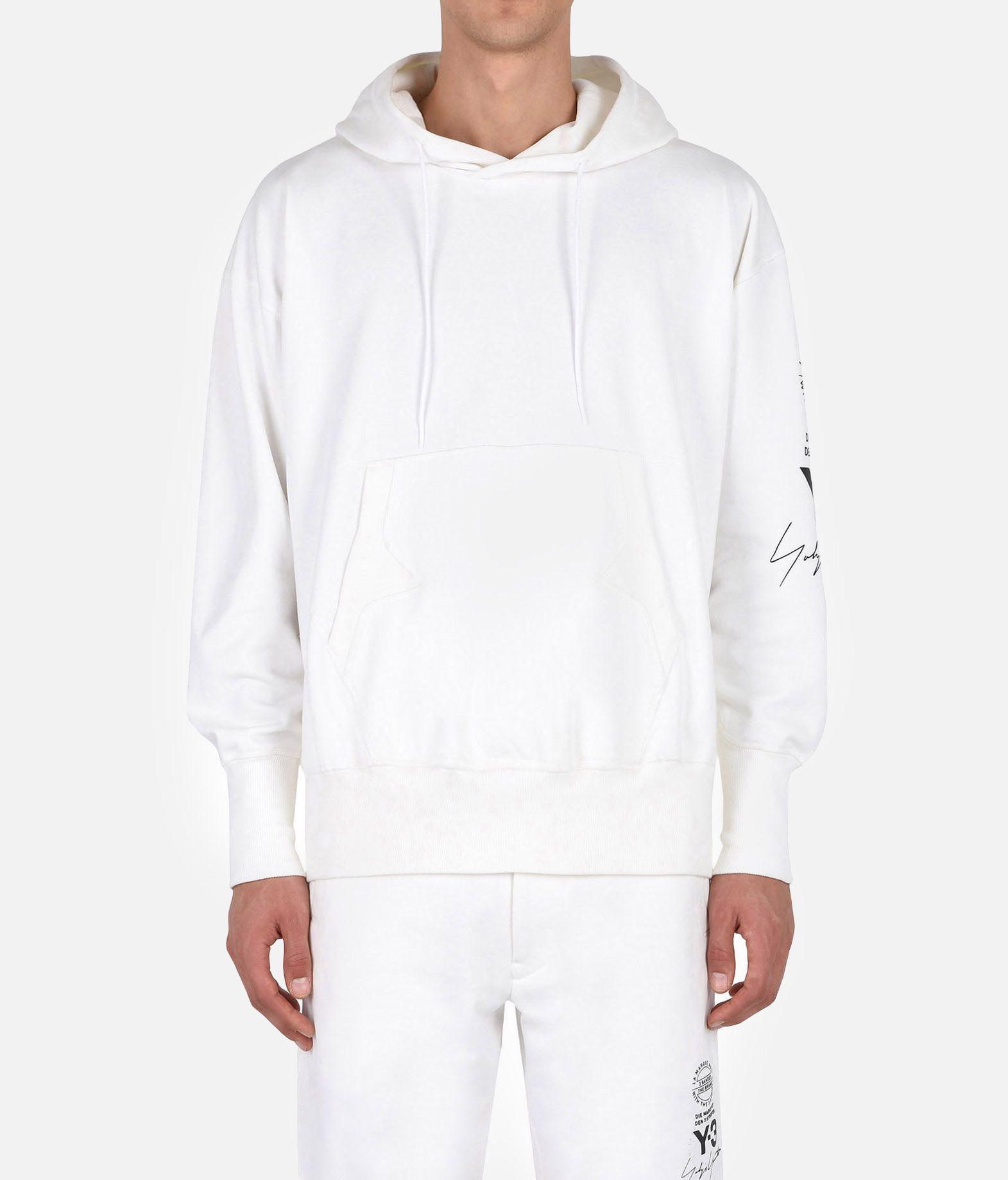 Y-3 Y-3 GRAPHIC HOODIE Hooded sweatshirt Man r