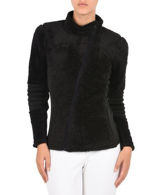 NAPAPIJRI TIRICH WOMAN FLEECE,BLACK