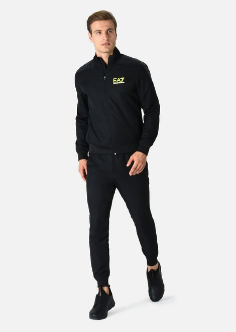 Technical fabric tracksuit