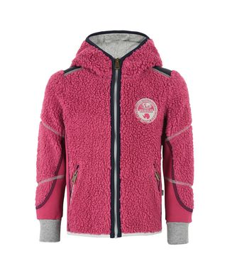 NAPAPIJRI K YUPIK HOOD JUNIOR KID FLEECE,FUCHSIA