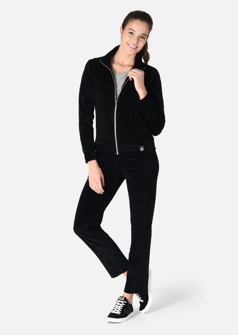 Chenille tracksuit