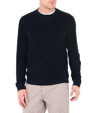 NAPAPIJRI BRYCE REVERSIBLE MAN SWEATSHIRT,DARK BLUE