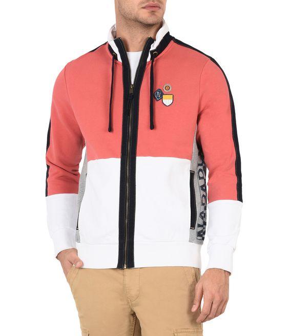 NAPAPIJRI BLIKE Zip sweatshirt Man f