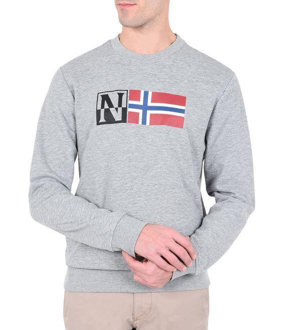 NAPAPIJRI BENOOS CREW Sweatshirt Man f