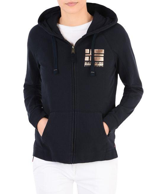 NAPAPIJRI BACAU Zip sweatshirt Woman f