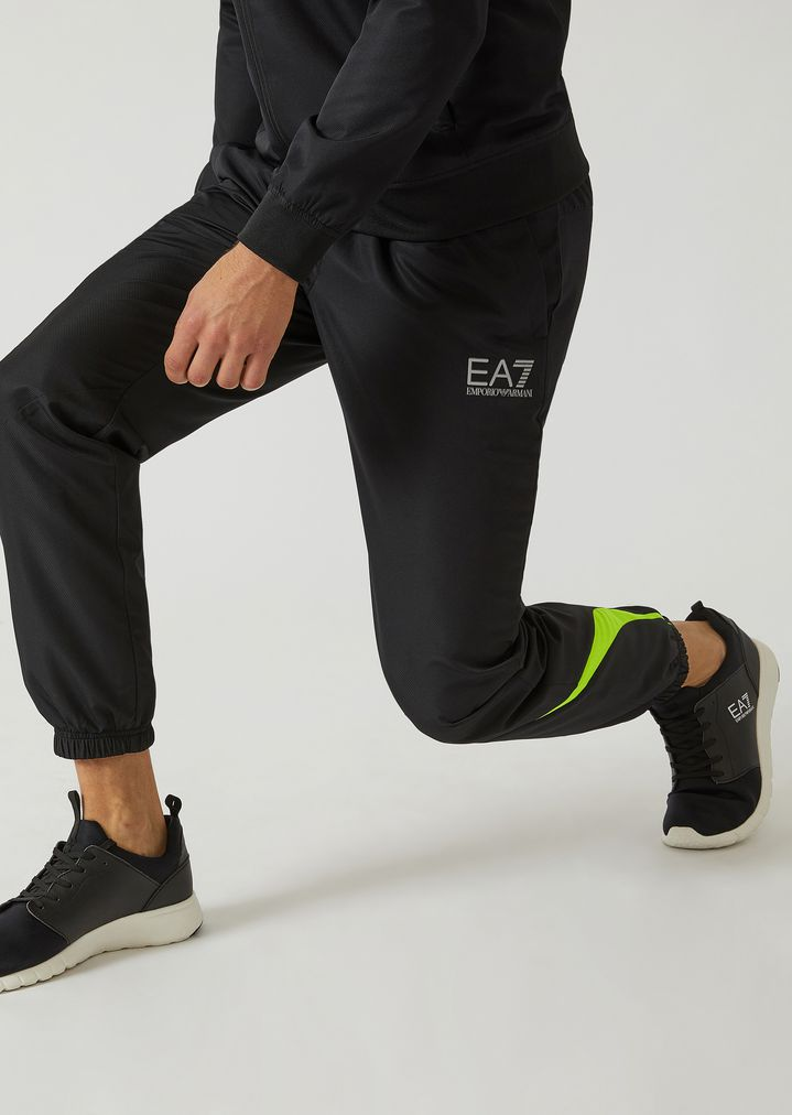 233866df7e0d1f Athletic tracksuit in technical fabric
