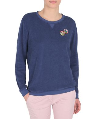 NAPAPIJRI BRYCE REVERSIBLE WOMAN SWEATSHIRT,BLUE