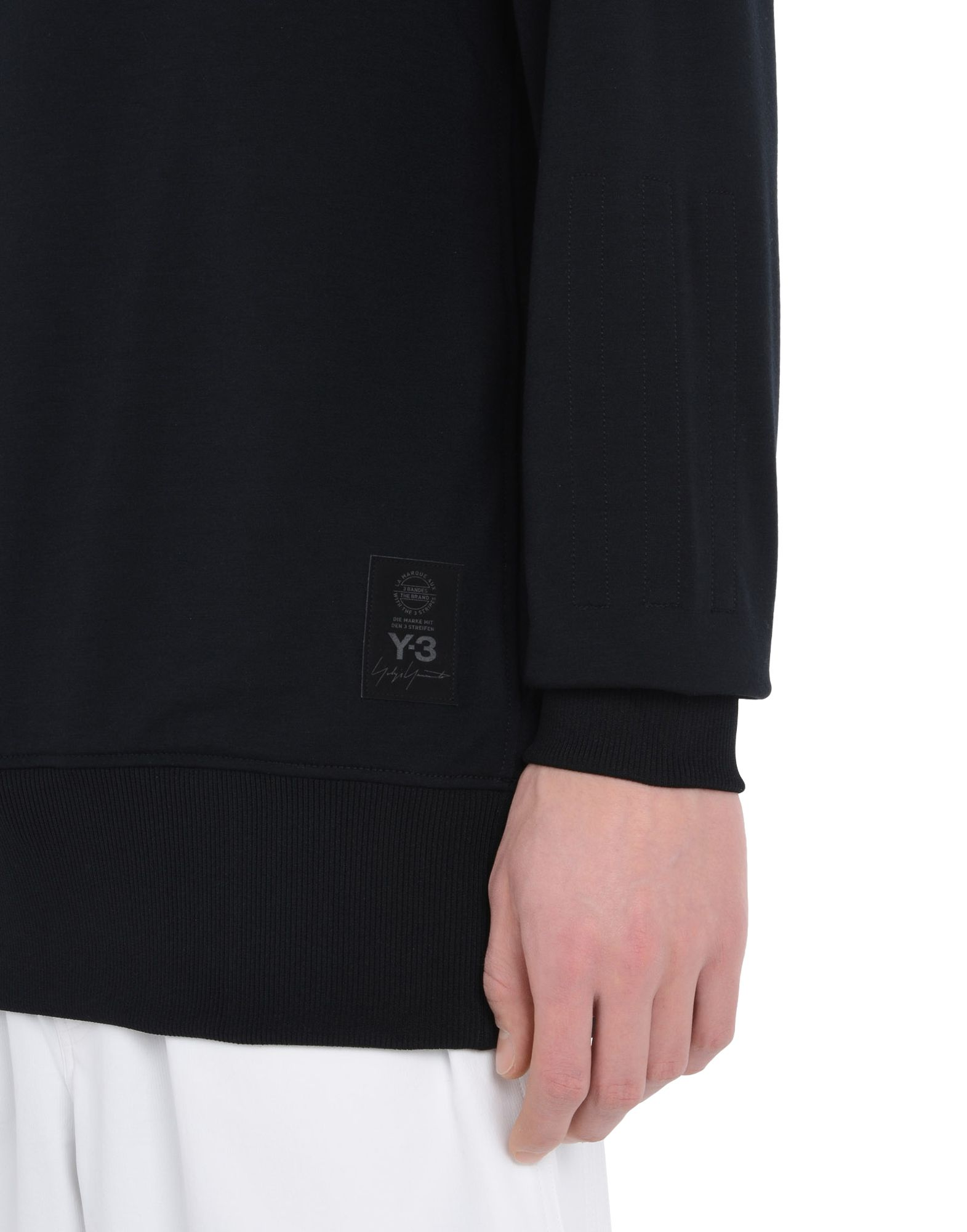 Y-3 Y-3 FRENCH TERRY SWEATER Sweatshirt Man a