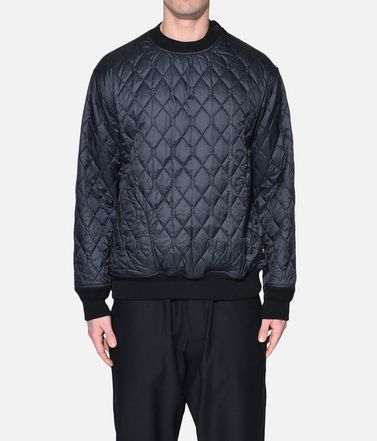 Y-3 スウェット メンズ Y-3 Quilted Sweater r