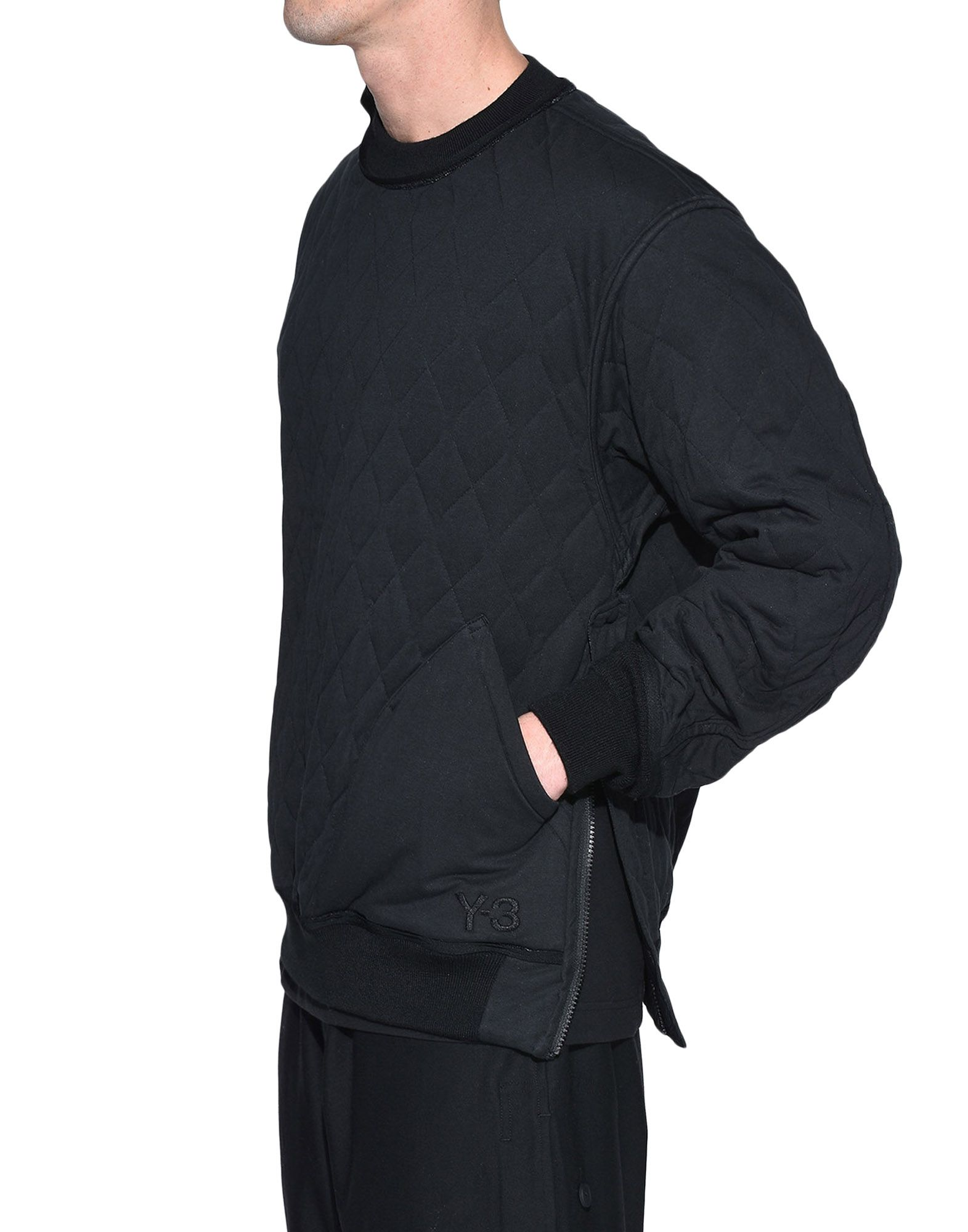 Y-3 Y-3 Quilted Sweater Sweatshirt Man e