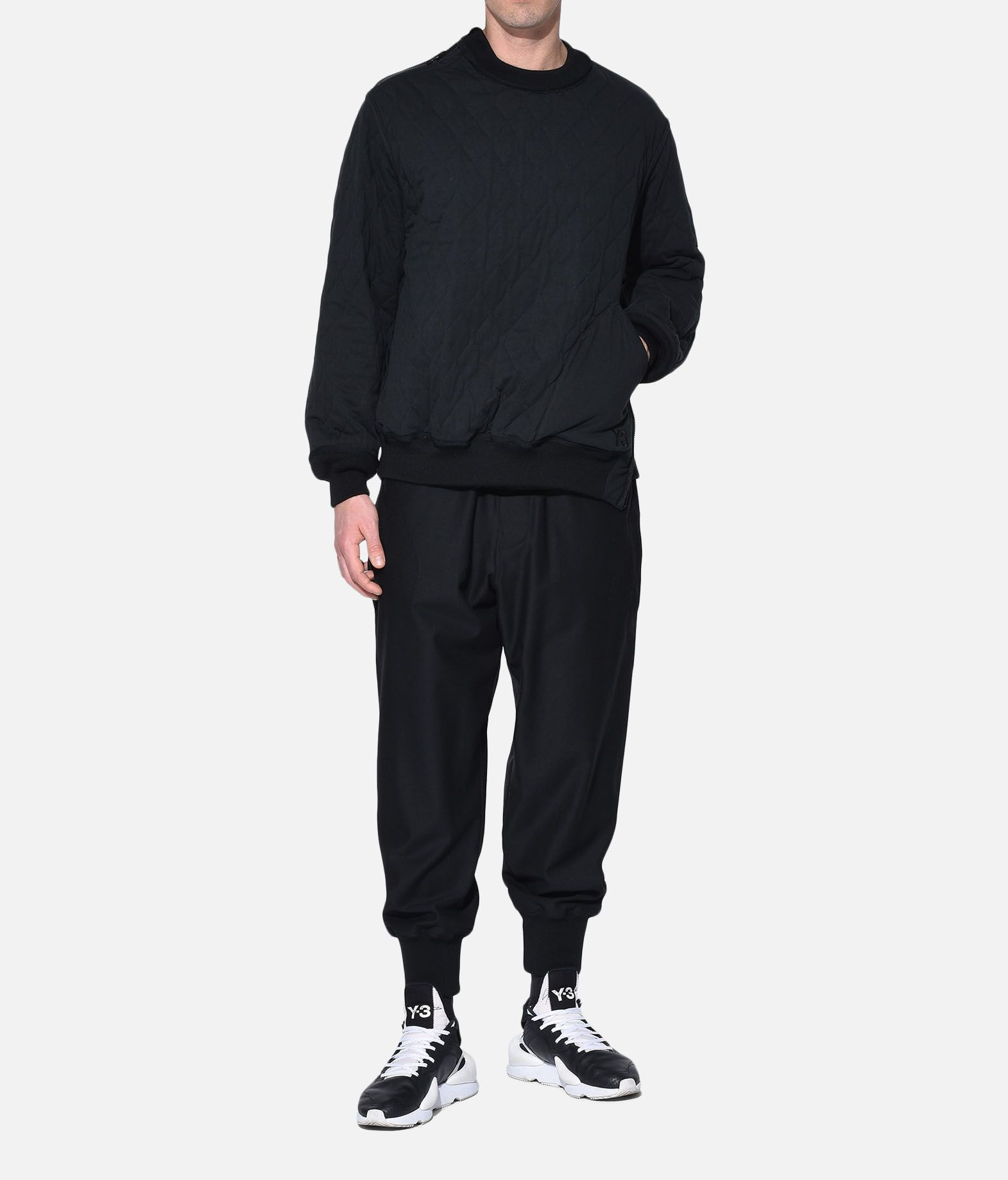 Y-3 Y-3 Quilted Sweater Sweatshirt Man a