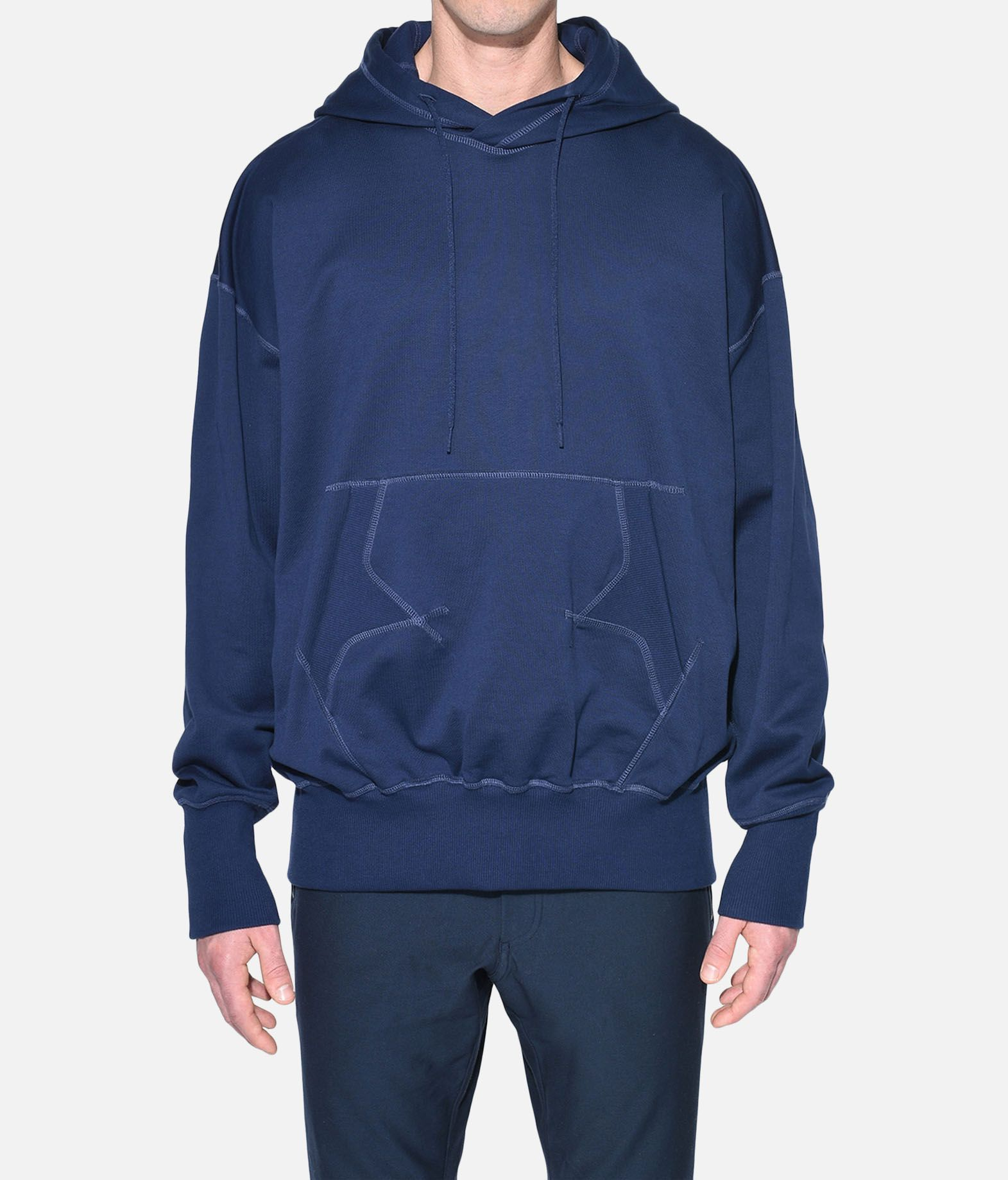 Y-3 Y-3 Stacked Logo Hoodie Hooded sweatshirt Man r