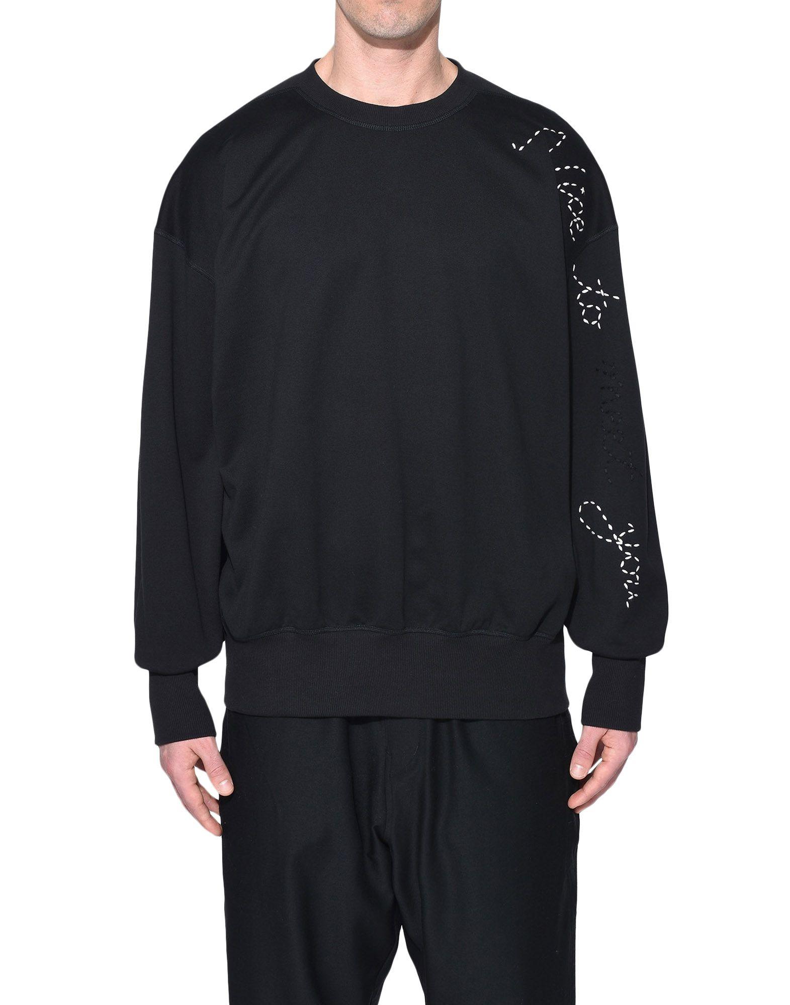 Y-3 Y-3 Sashiko Slogan Sweater Sweatshirt Man r