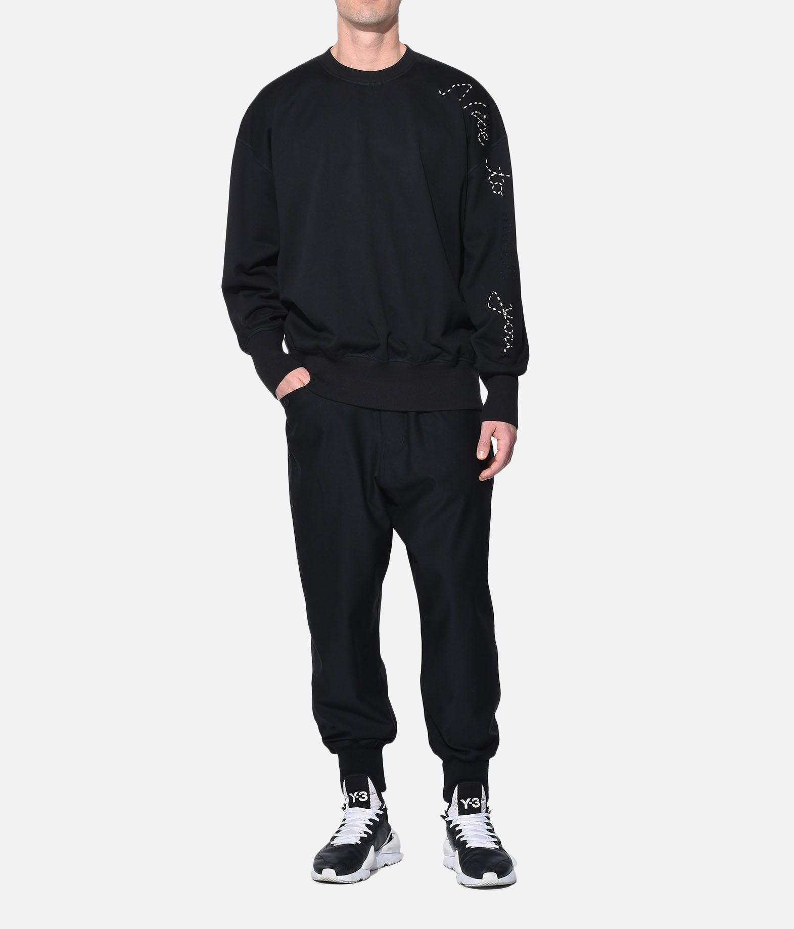 Y-3 Y-3 Sashiko Slogan Sweater スウェット メンズ a