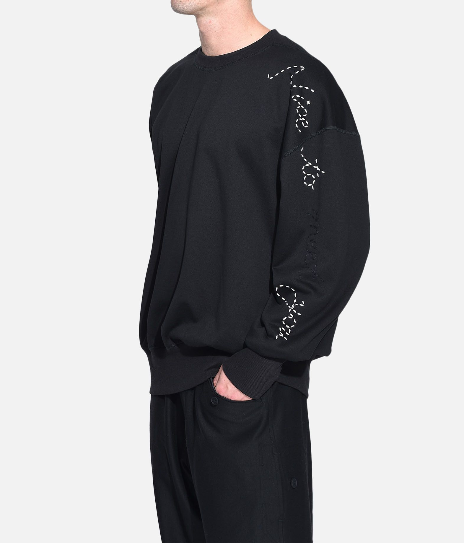 Y-3 Y-3 Sashiko Slogan Sweater スウェット メンズ e