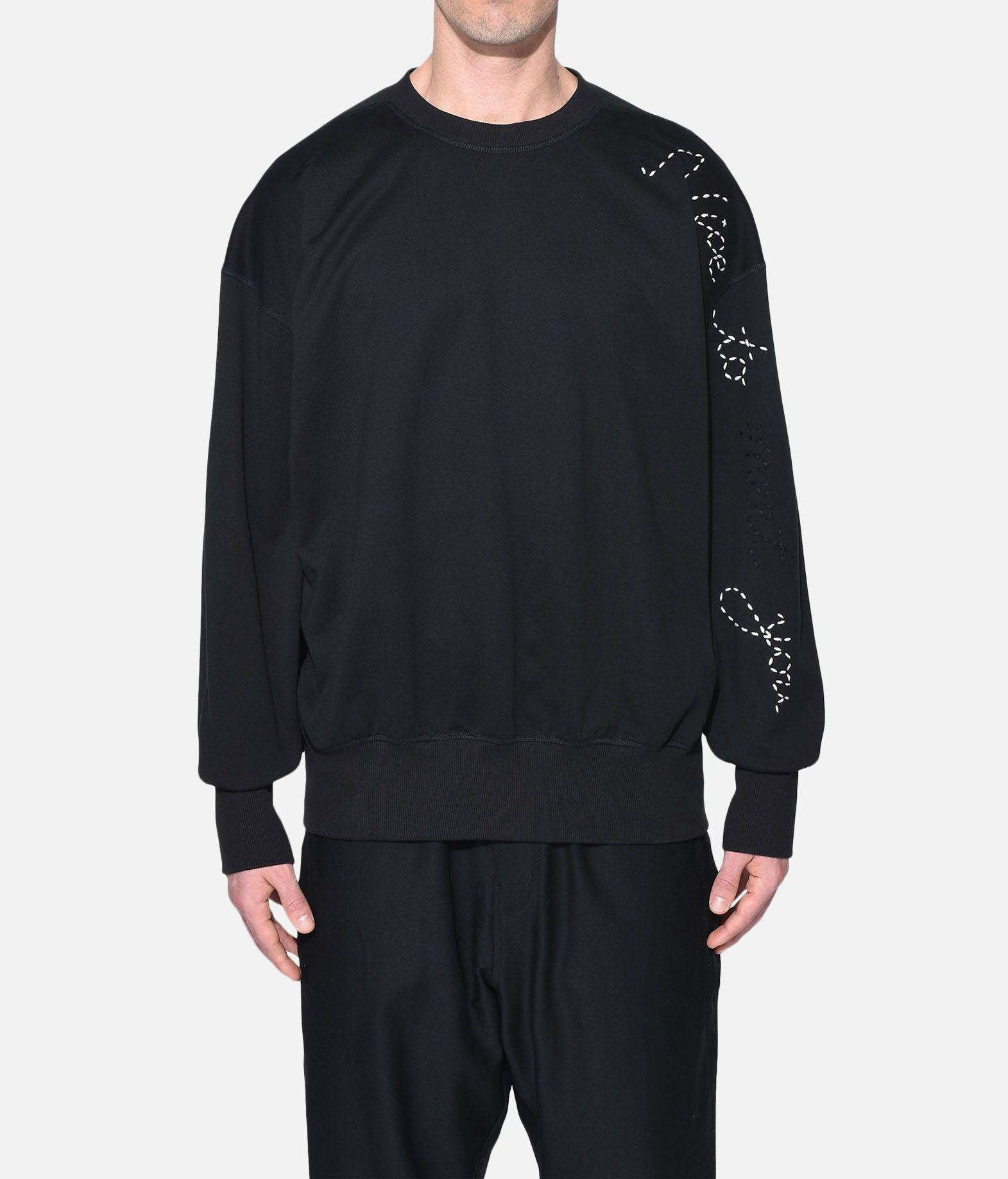 Y-3 Y-3 Sashiko Slogan Sweater スウェット メンズ r