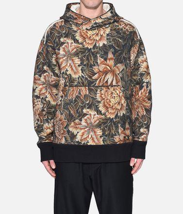 Y-3 Sweat-shirt à capuche Homme Y-3 AOP Spacer Wool Hoodie r