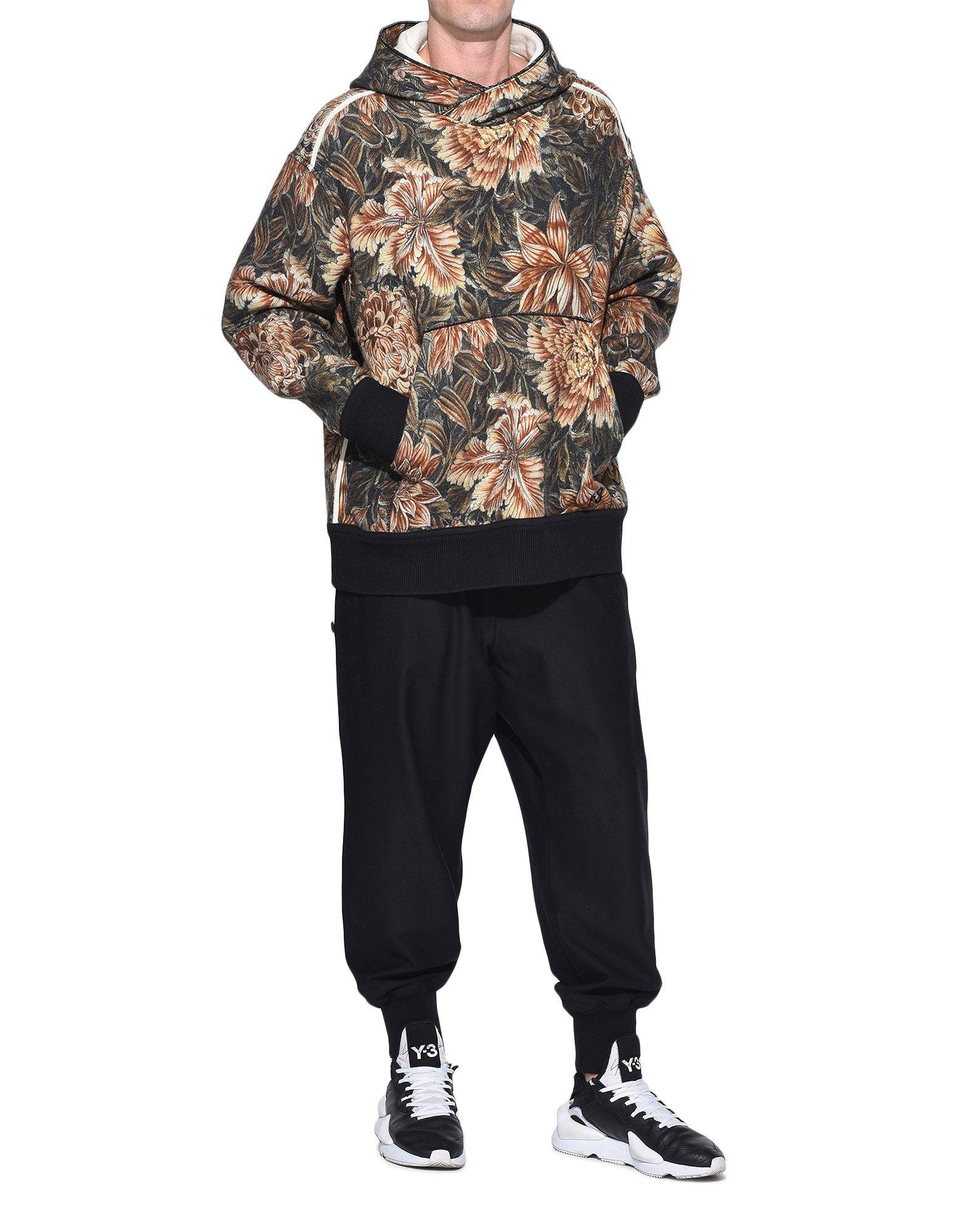 Y-3 Y-3 AOP Spacer Wool Hoodie Hooded sweatshirt Man a