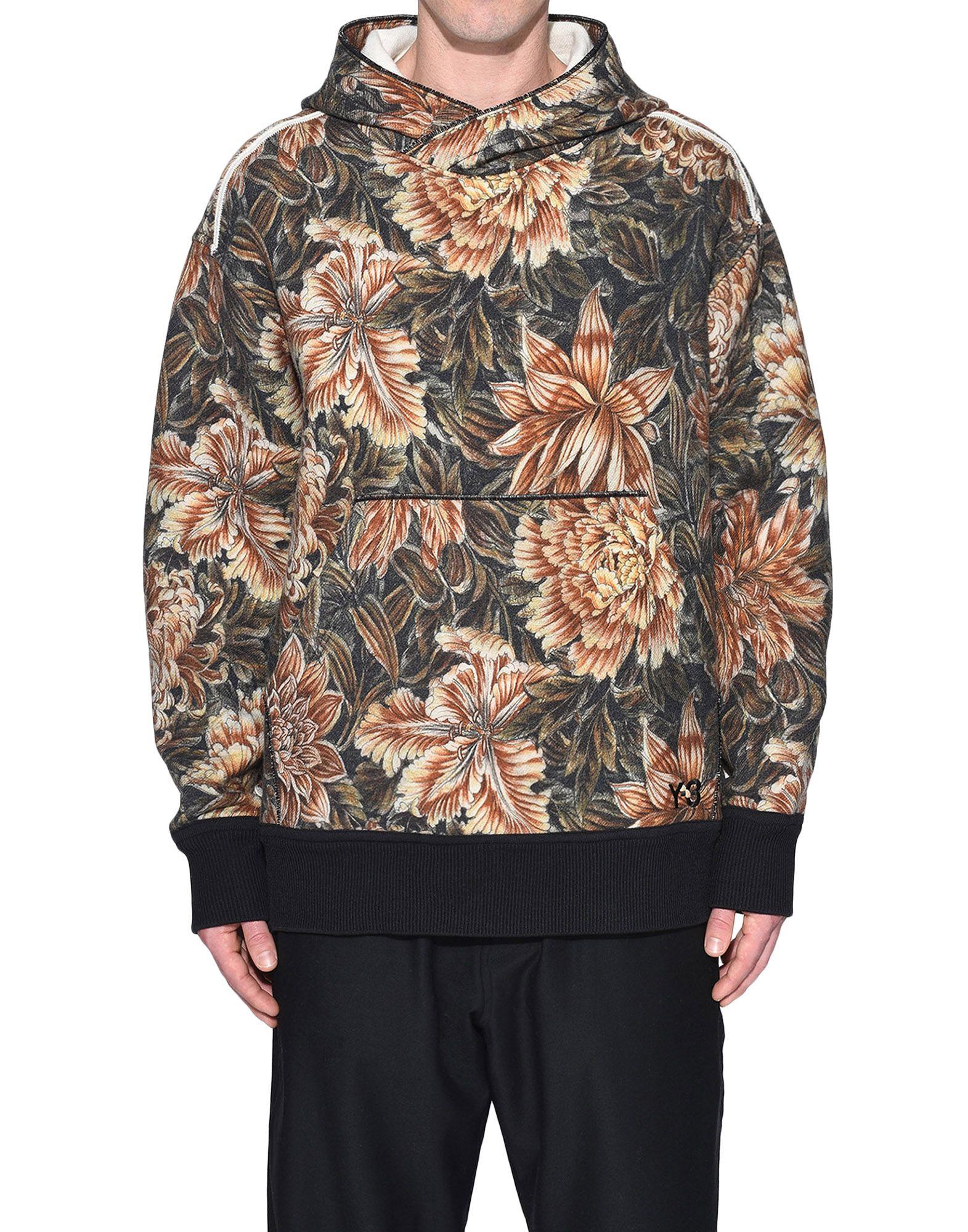 Y-3 Y-3 AOP Spacer Wool Hoodie Hooded sweatshirt Man r