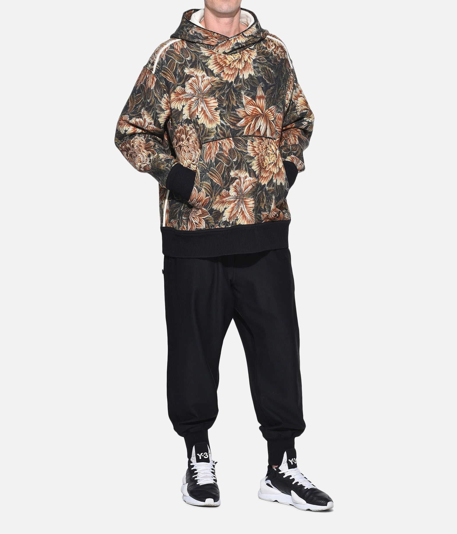 Y-3 Y-3 AOP Spacer Wool Hoodie Hooded sweatshirt Man a