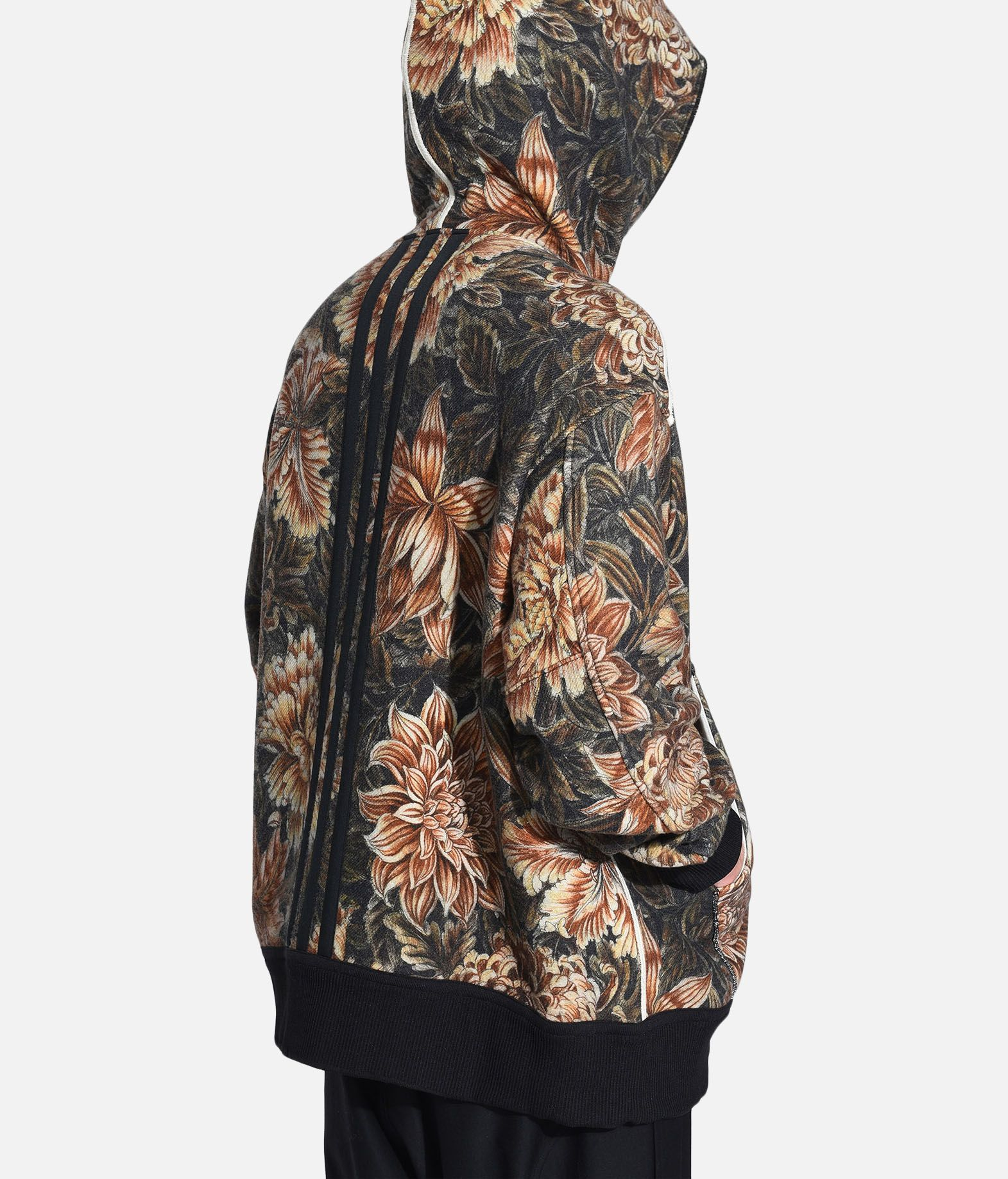 Y-3 Y-3 AOP Spacer Wool Hoodie Hooded sweatshirt Man e