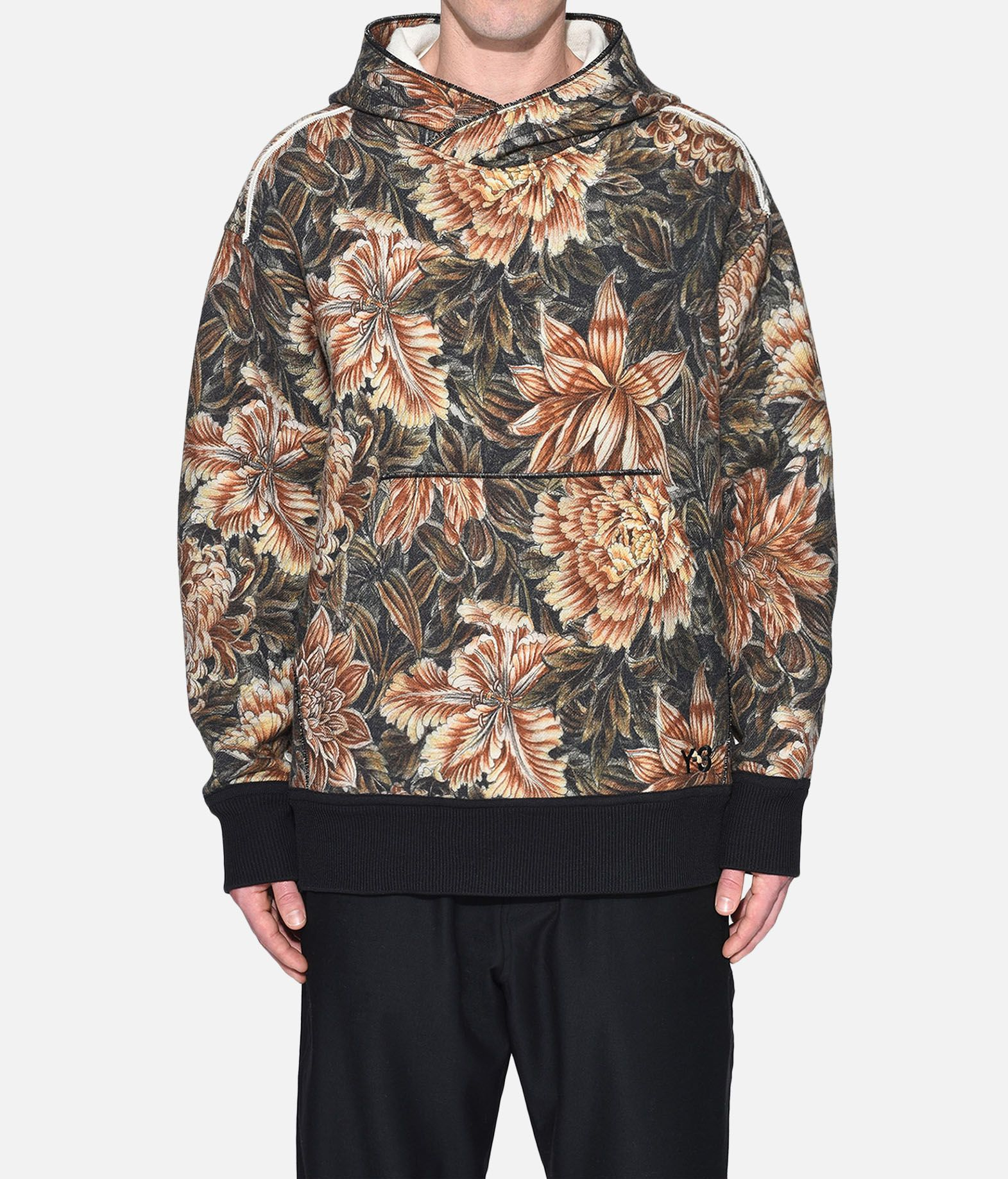 Y-3 Y-3 AOP Spacer Wool Hoodie Hooded sweatshirt Man r