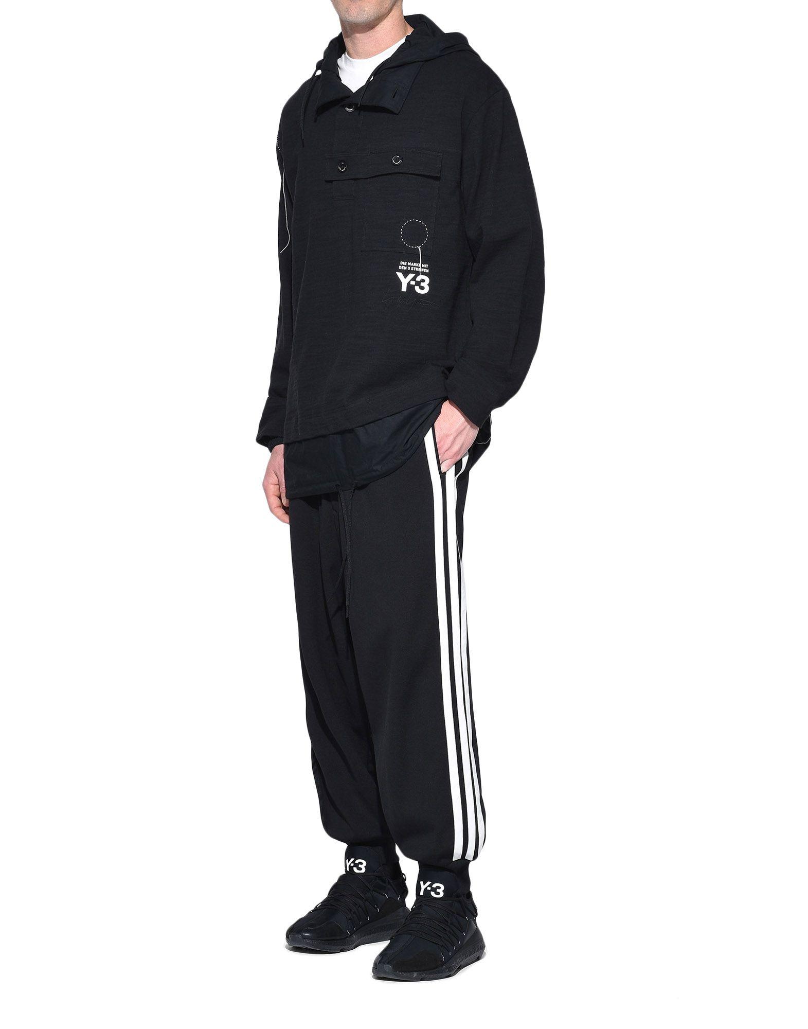 Y-3 Y-3 Sashiko Layered Hoodie Hooded sweatshirt Man a