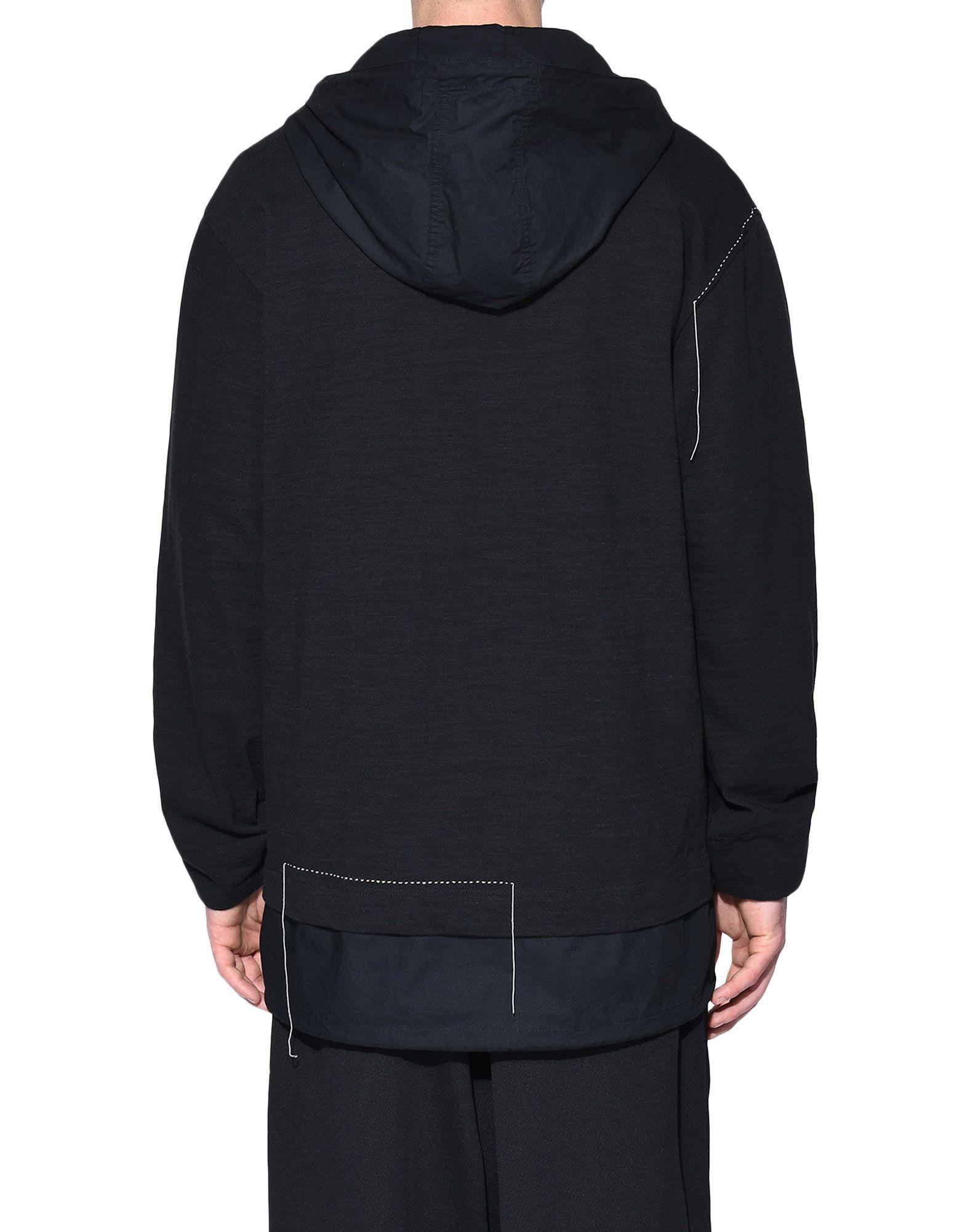 Y-3 Y-3 Sashiko Layered Hoodie Hooded sweatshirt Man d