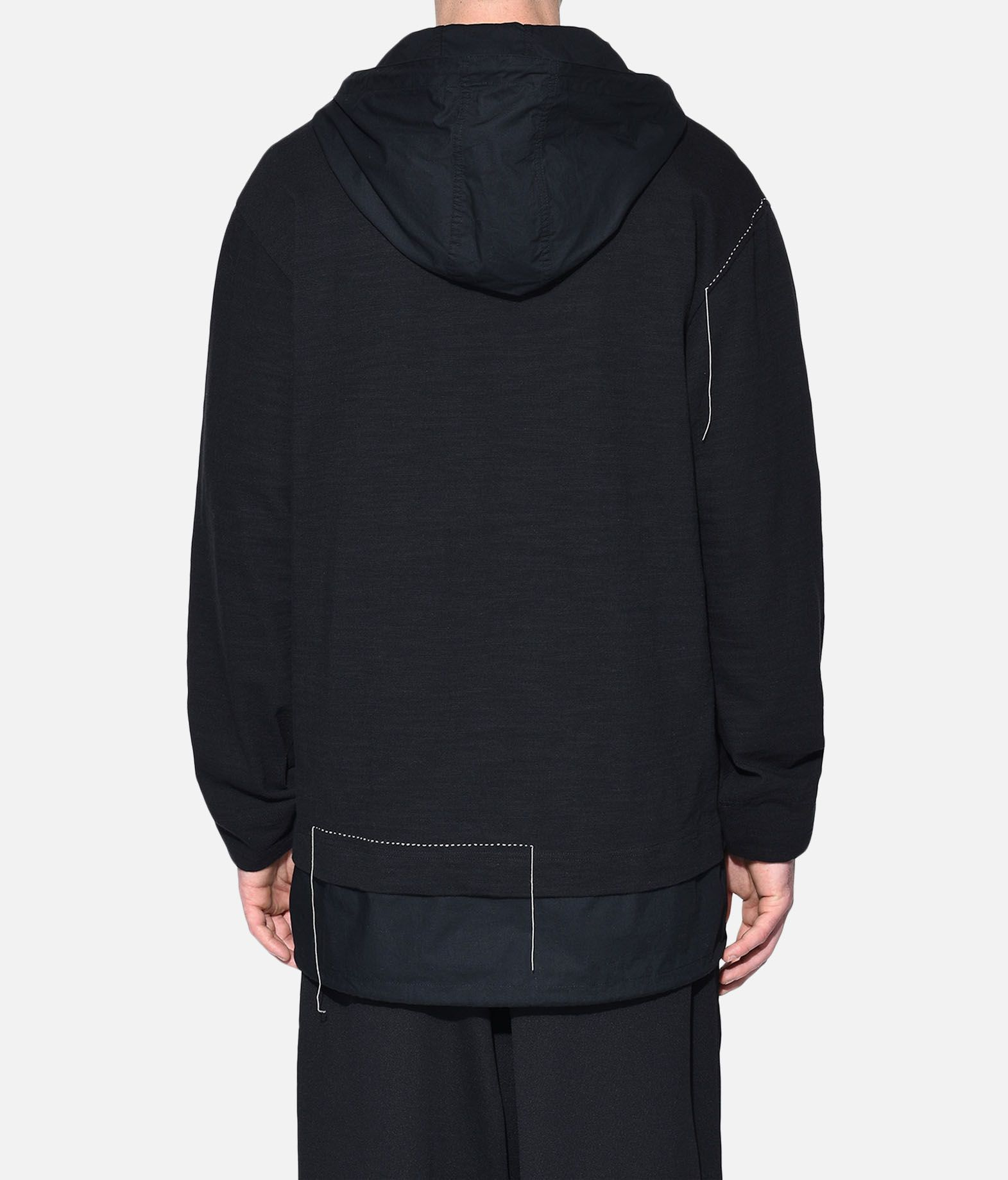 Y-3 Y-3 Sashiko Layered Hoodie Hooded sweatshirt Man d