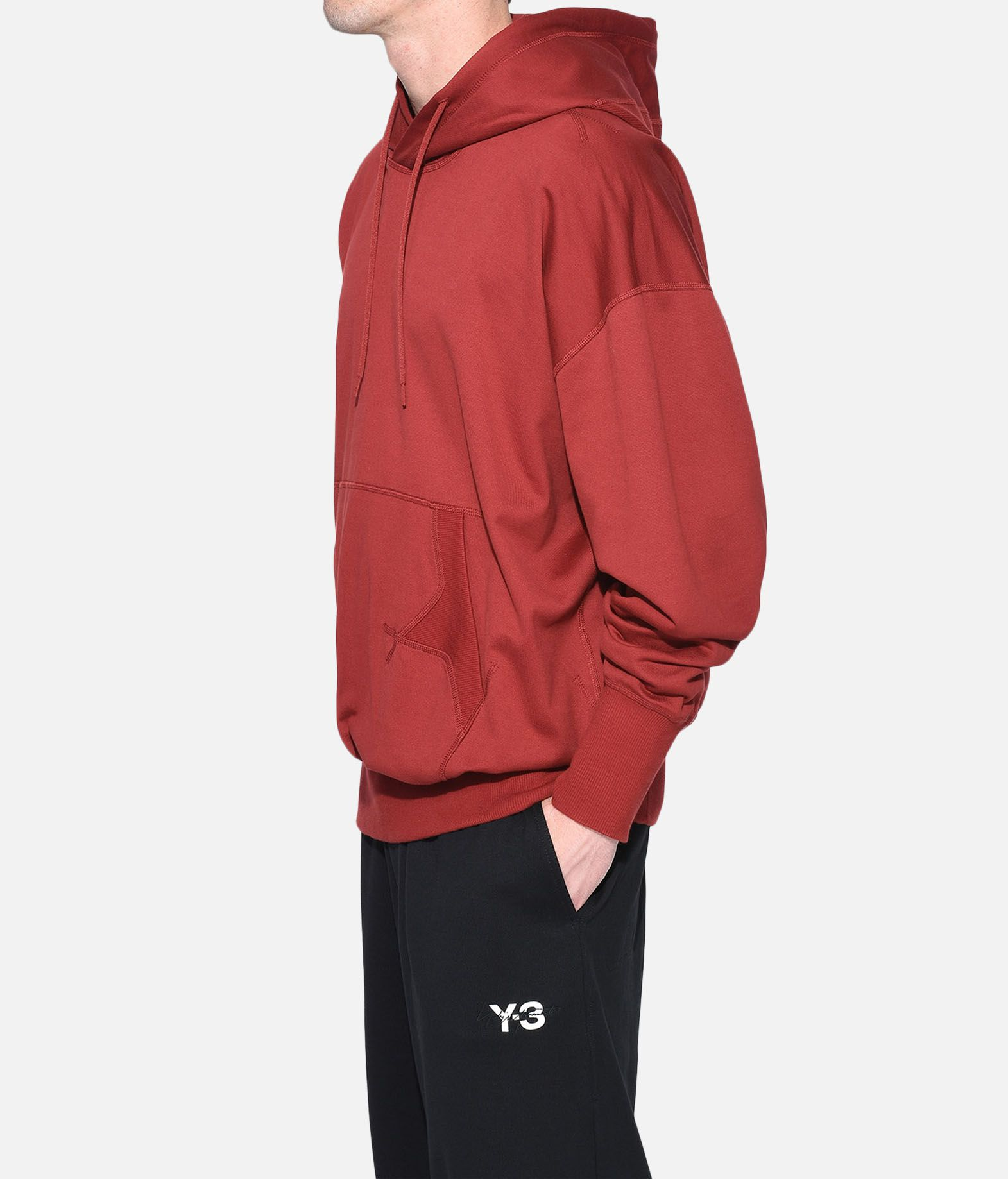 Y-3 Y-3 Stacked Logo Hoodie フード付きトレーナー メンズ e