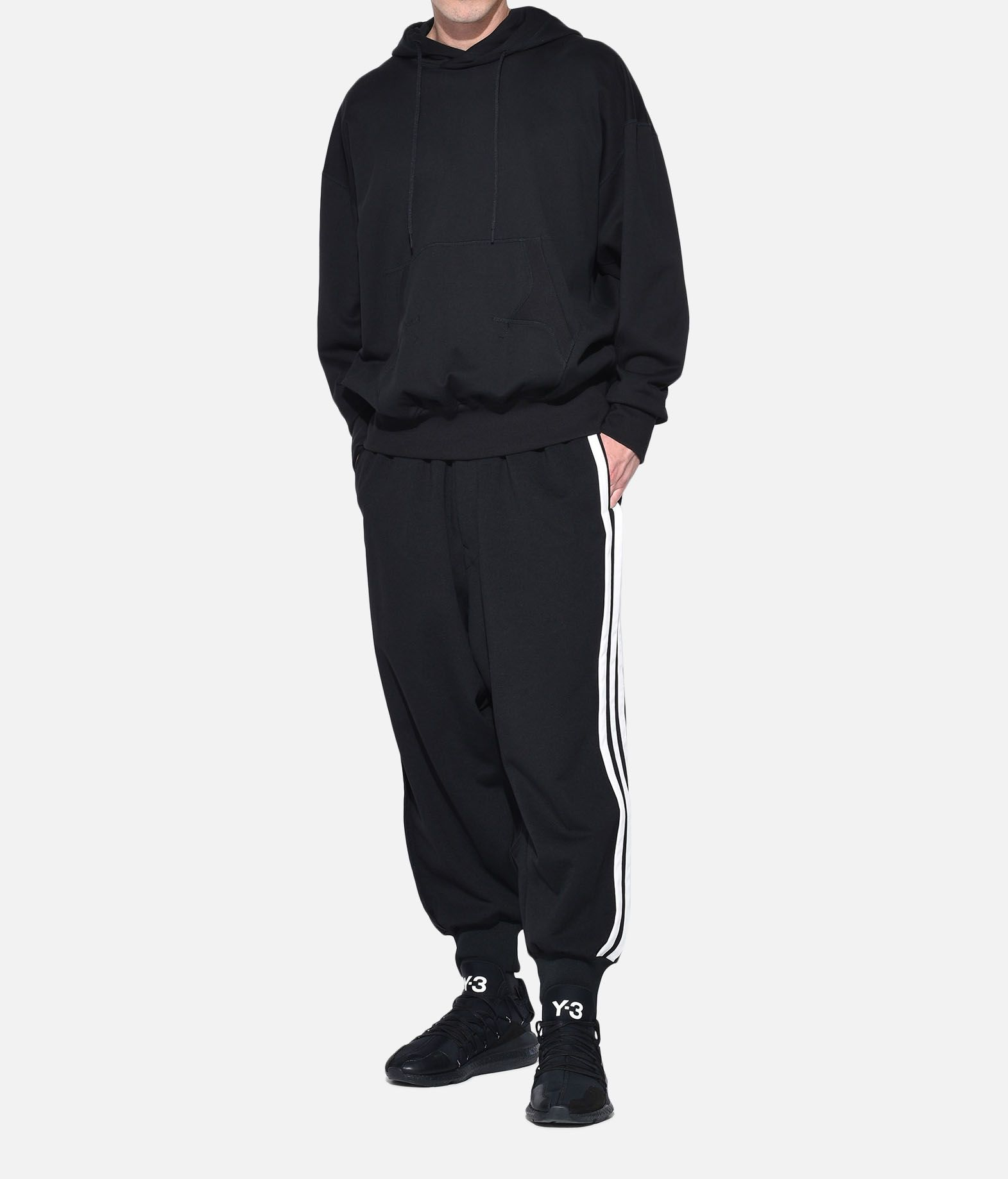 Y-3 Y-3 Stacked Logo Hoodie Hooded sweatshirt Man a