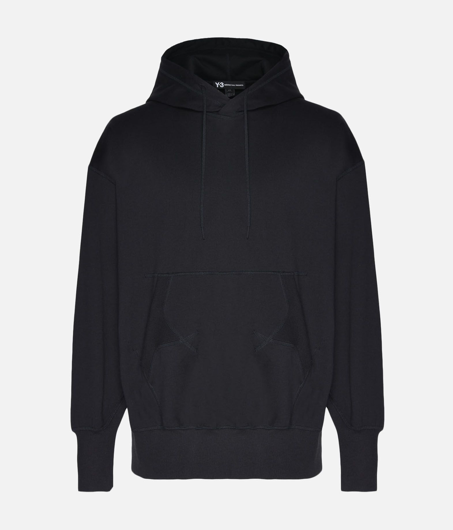 Y-3 Y-3 Stacked Logo Hoodie Hooded sweatshirt Man f