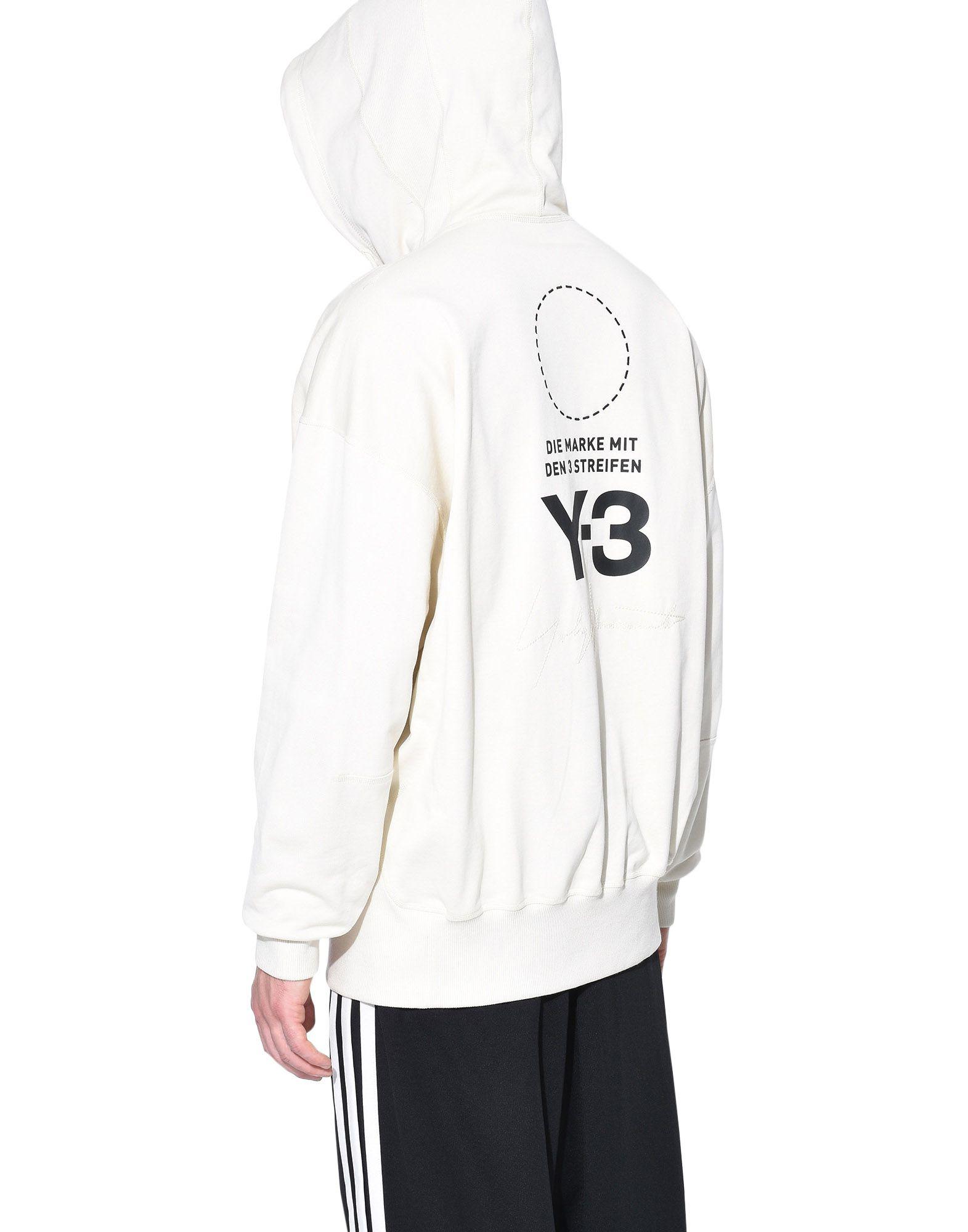 Y-3 Y-3 Stacked Logo Hoodie Hooded sweatshirt Man e
