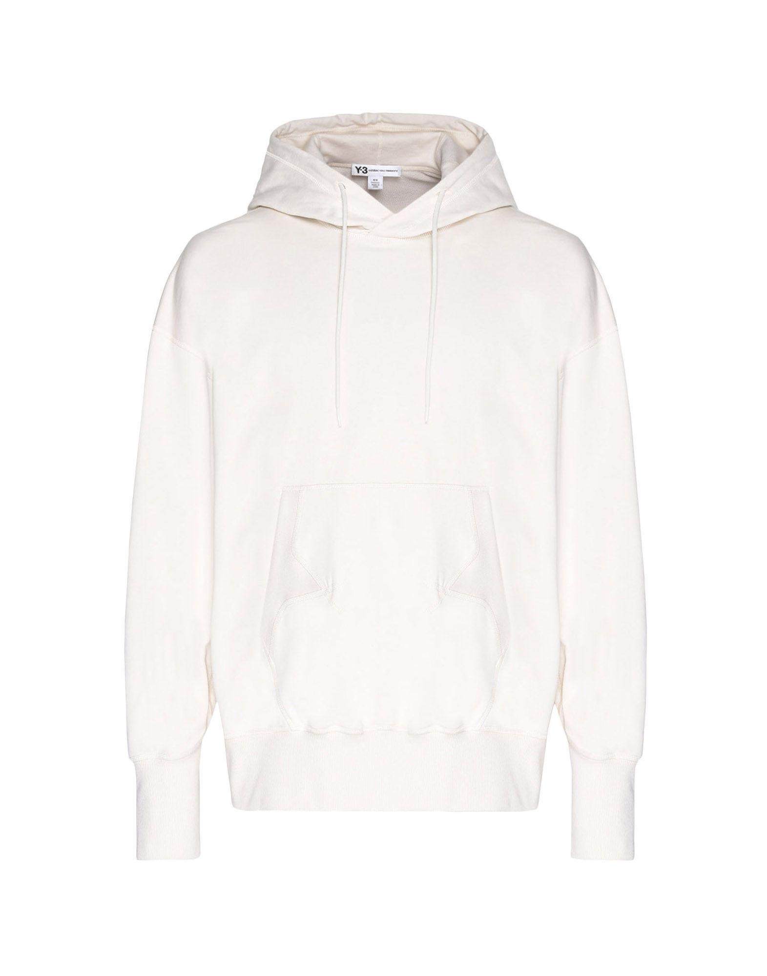 Y-3 Y-3 Stacked Logo Hoodie Hooded sweatshirt Man f