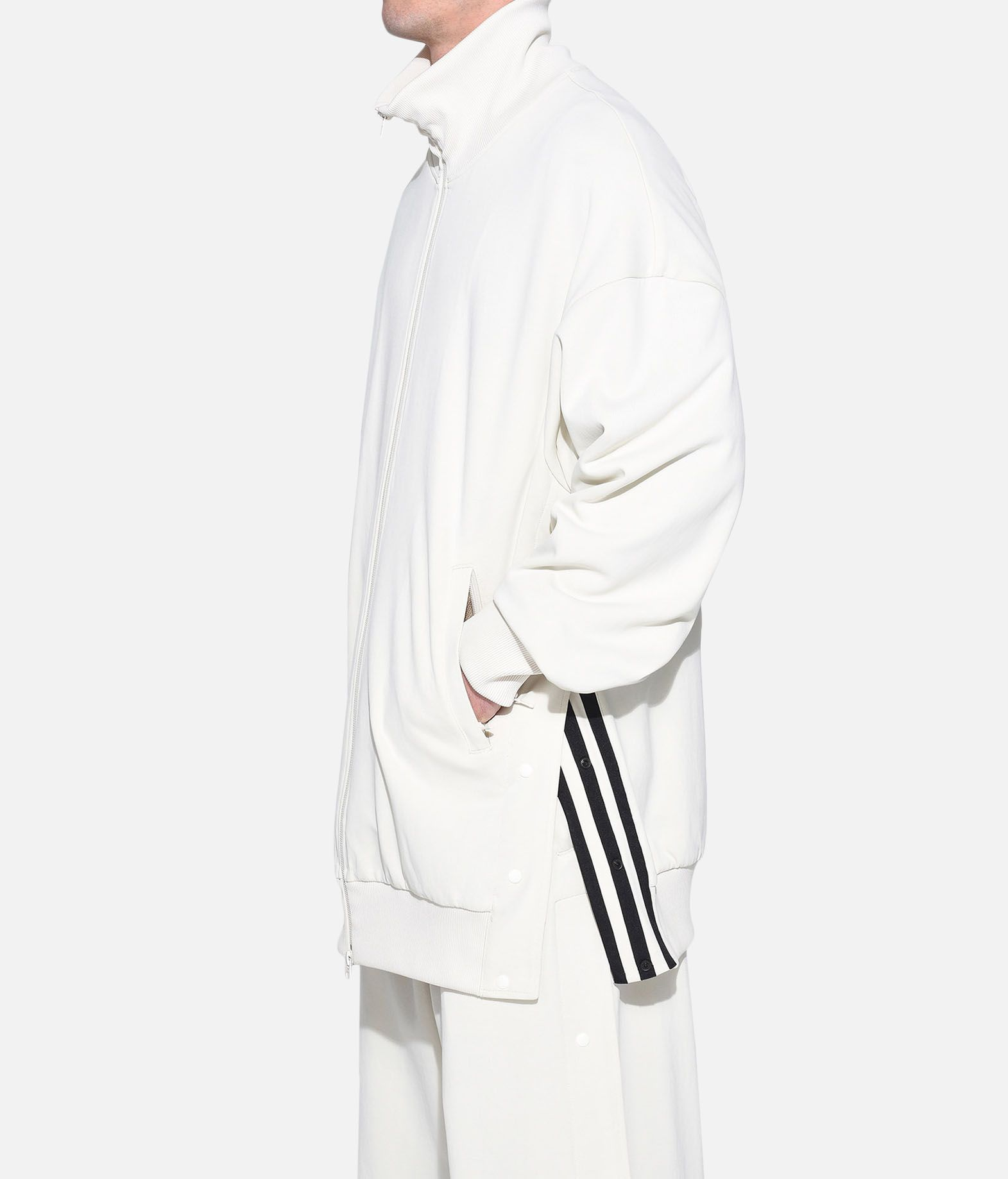 Y-3 Y-3 3-Stripes Matte Snap Track Jacket Track top メンズ e