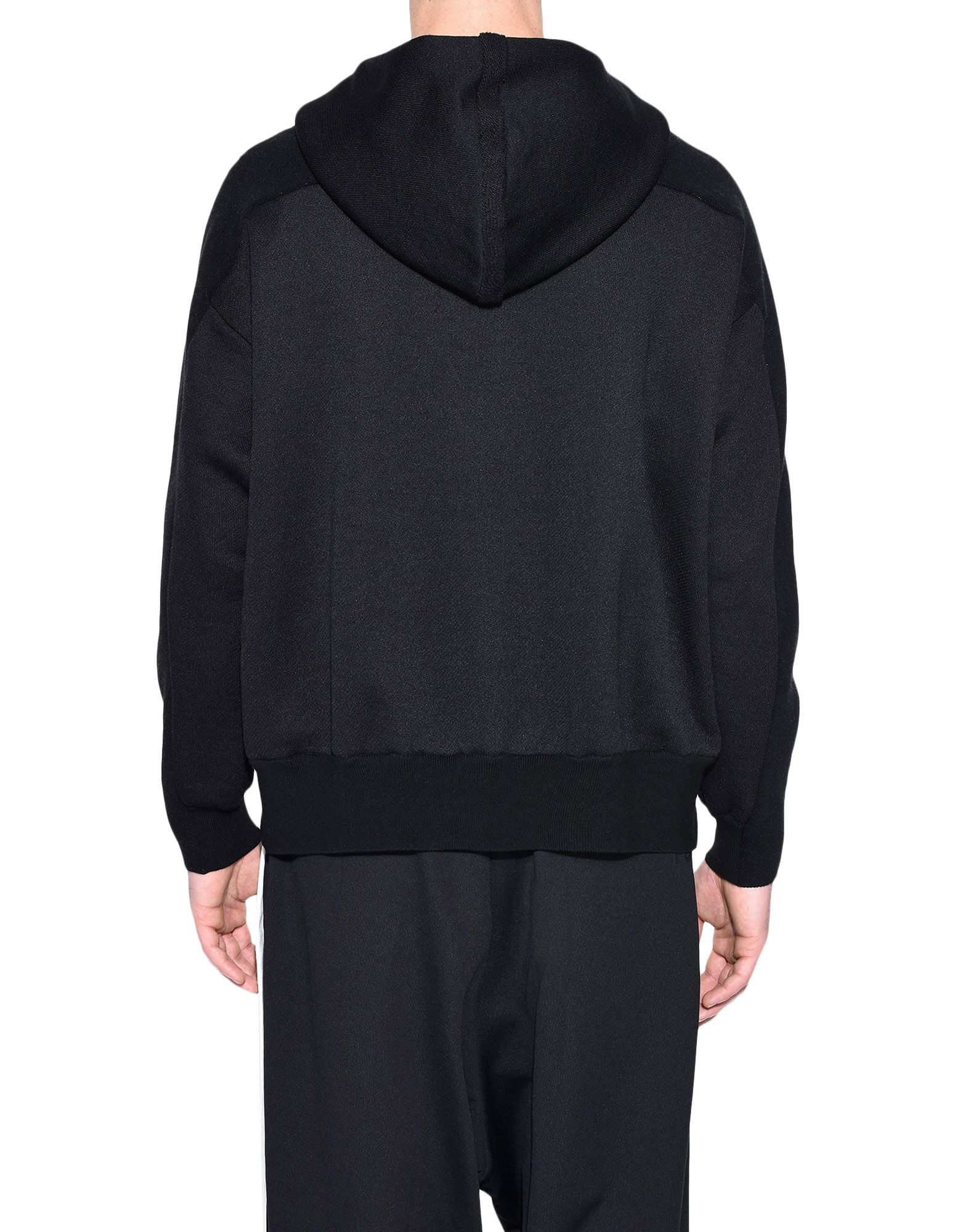Y-3 Y-3 Knitted Stacked Logo Hoodie フード付きトレーナー メンズ d