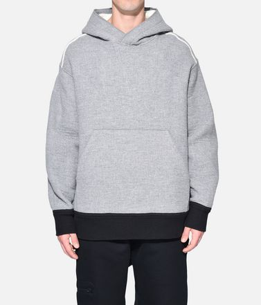 Y-3 Hooded sweatshirt Man Y-3 Spacer Wool Hoodie r