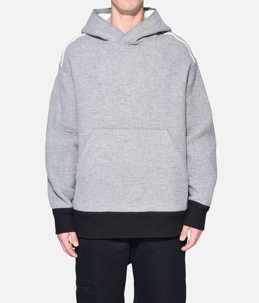 Y-3 Sweat-shirt à capuche Homme Y-3 Spacer Wool Hoodie r