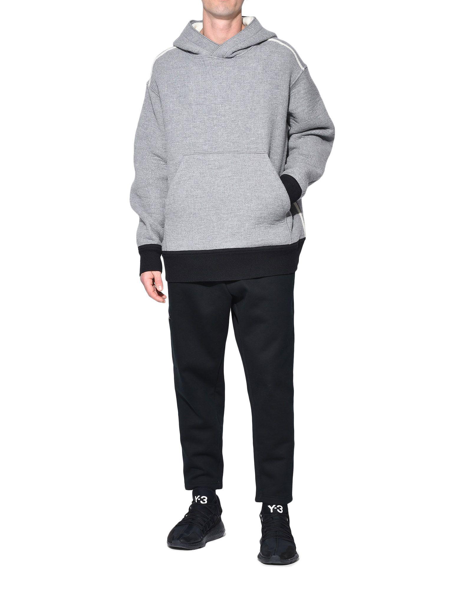 Y-3 Y-3 Spacer Wool Hoodie Hooded sweatshirt Man a