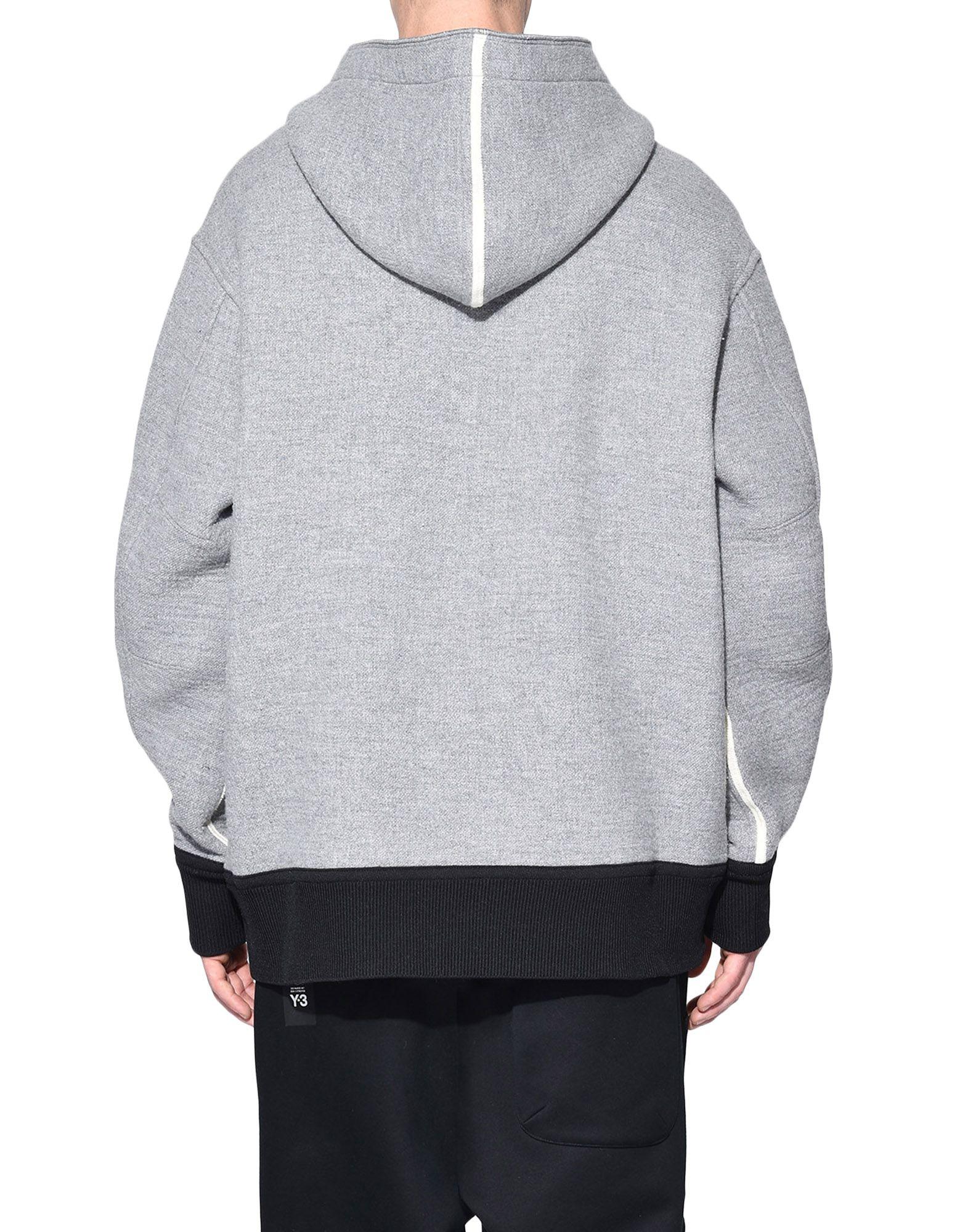 Y-3 Y-3 Spacer Wool Hoodie Hooded sweatshirt Man d