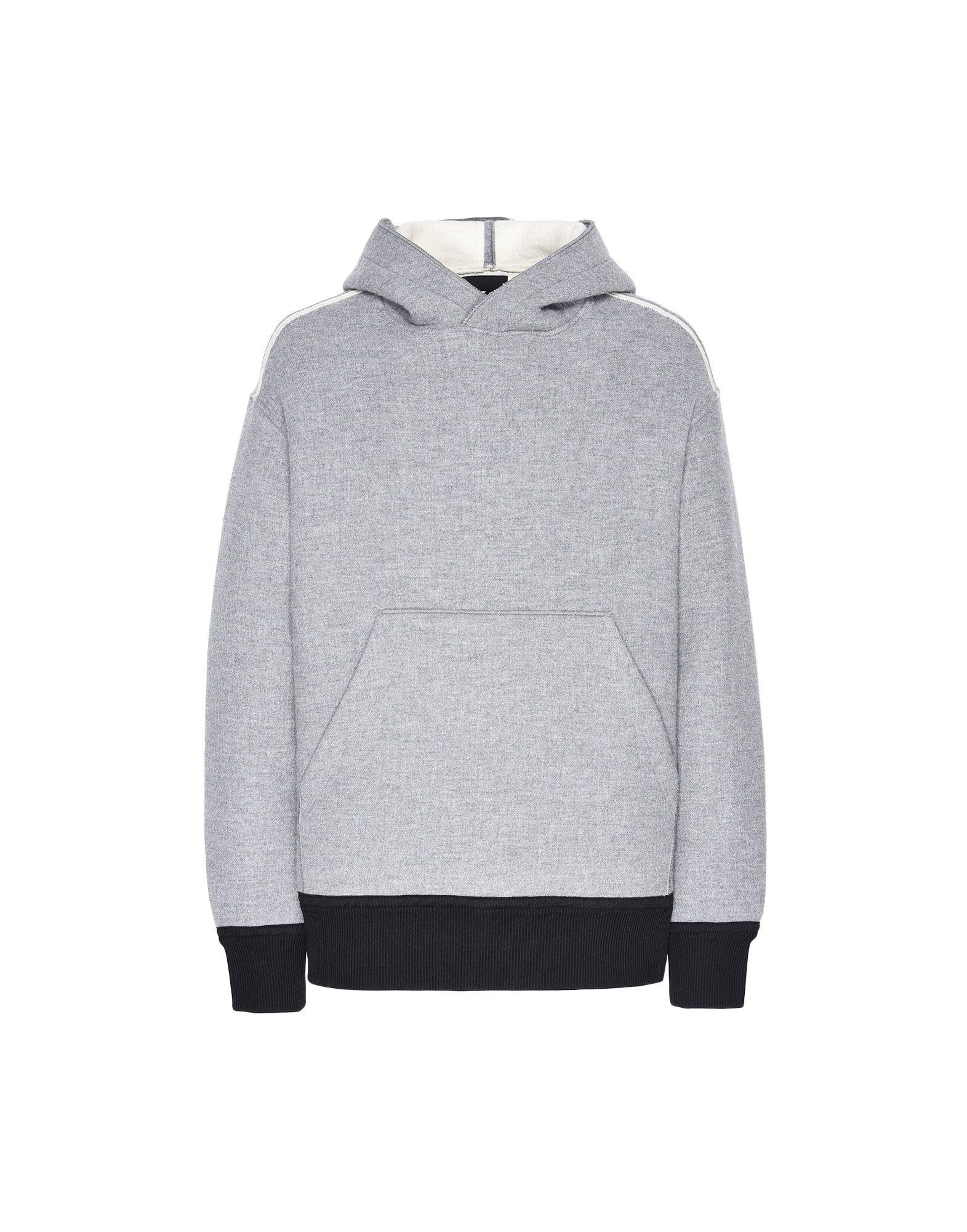 Y-3 Y-3 Spacer Wool Hoodie Hooded sweatshirt Man f