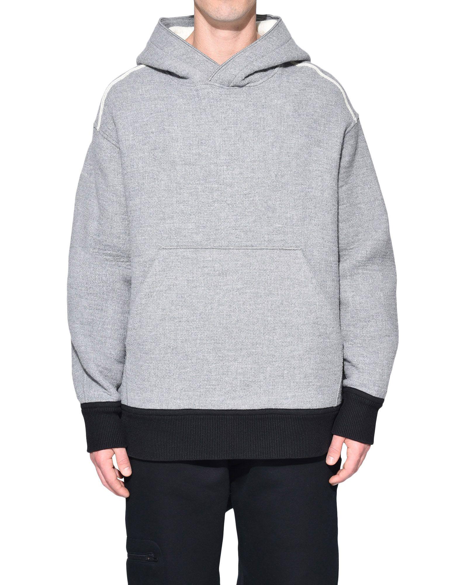 Y-3 Y-3 Spacer Wool Hoodie Hooded sweatshirt Man r