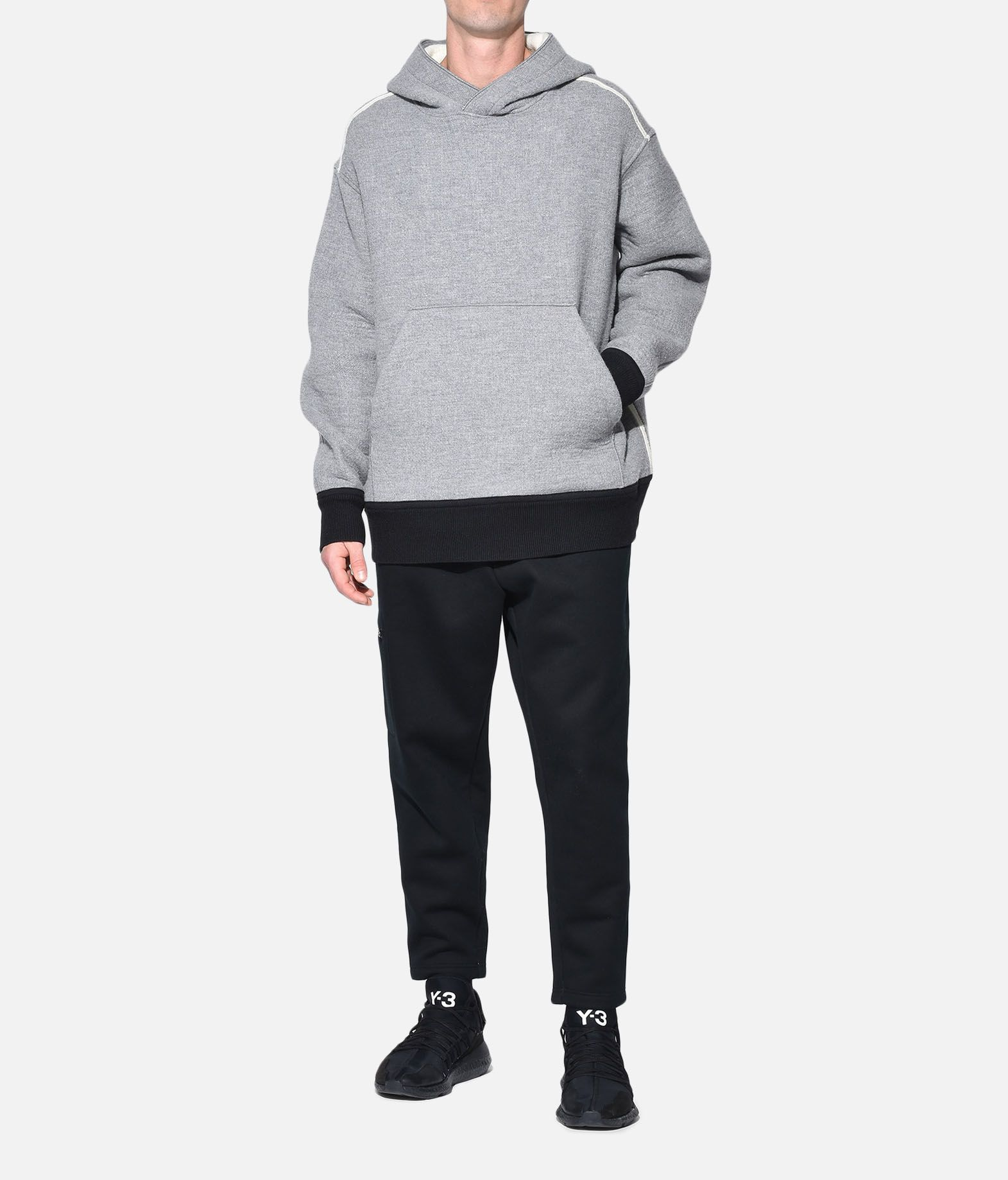 Y-3 Y-3 Spacer Wool Hoodie Hooded sweatshirt Man a