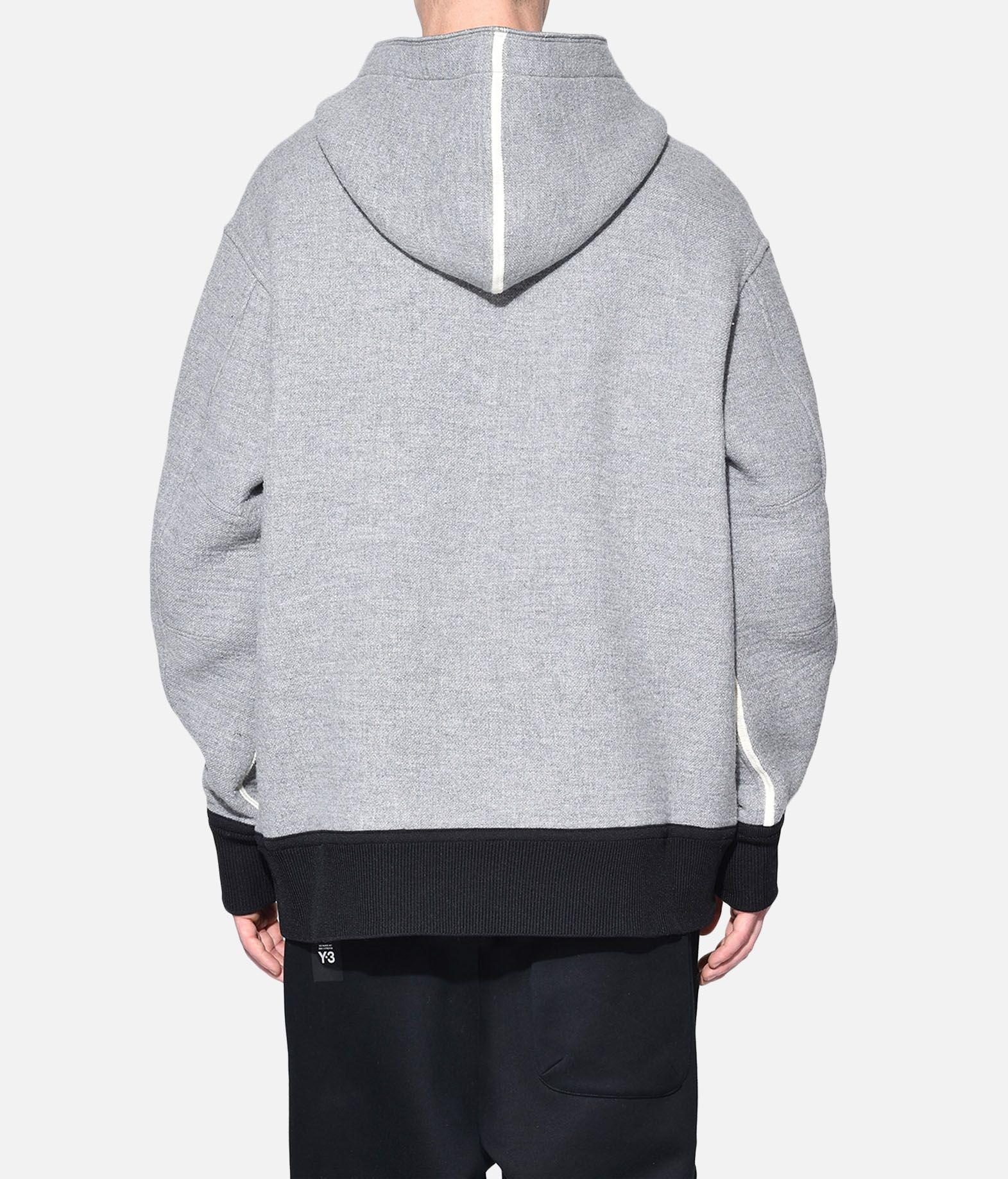 Y-3 Y-3 Spacer Wool Hoodie Hooded sweatshirt Man d