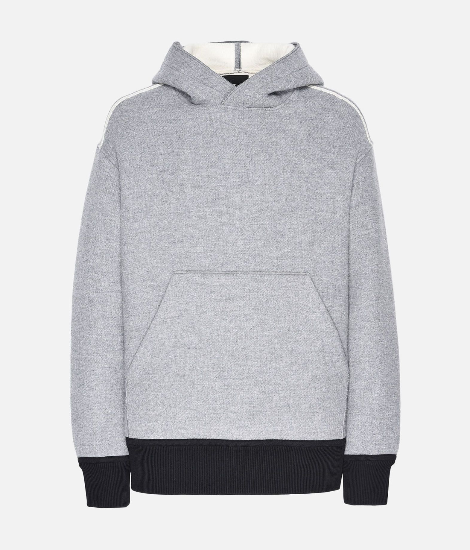 Y-3 Y-3 Spacer Wool Hoodie Hooded sweatshirt Man f