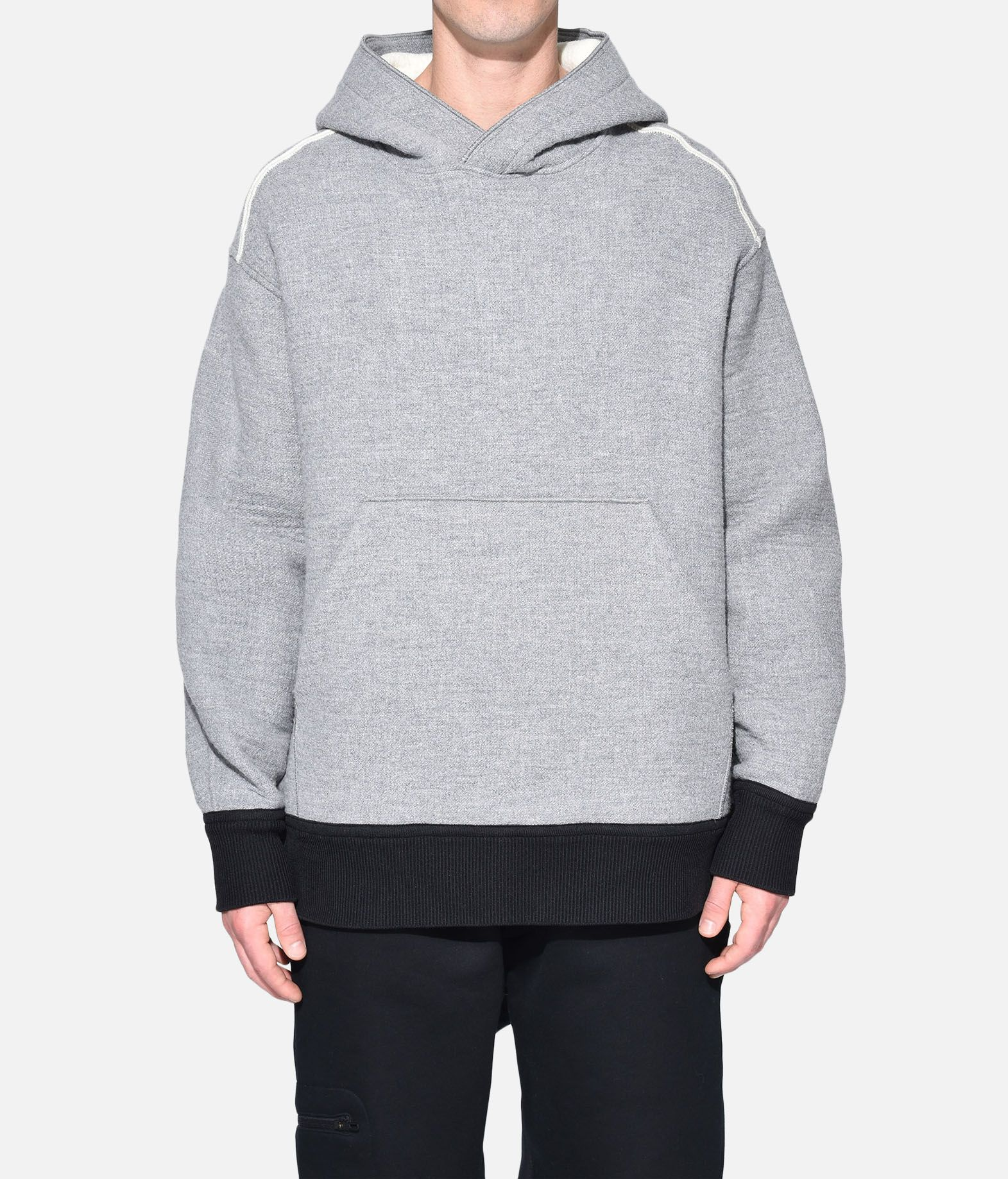 Y-3 Y-3 Spacer Wool Hoodie Hooded sweatshirt Man r