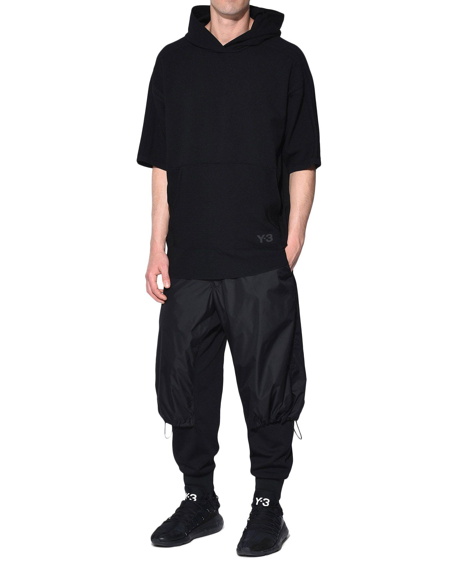 Y-3 Y-3 Tech Wool Hoodie Short sleeve jumper Man a
