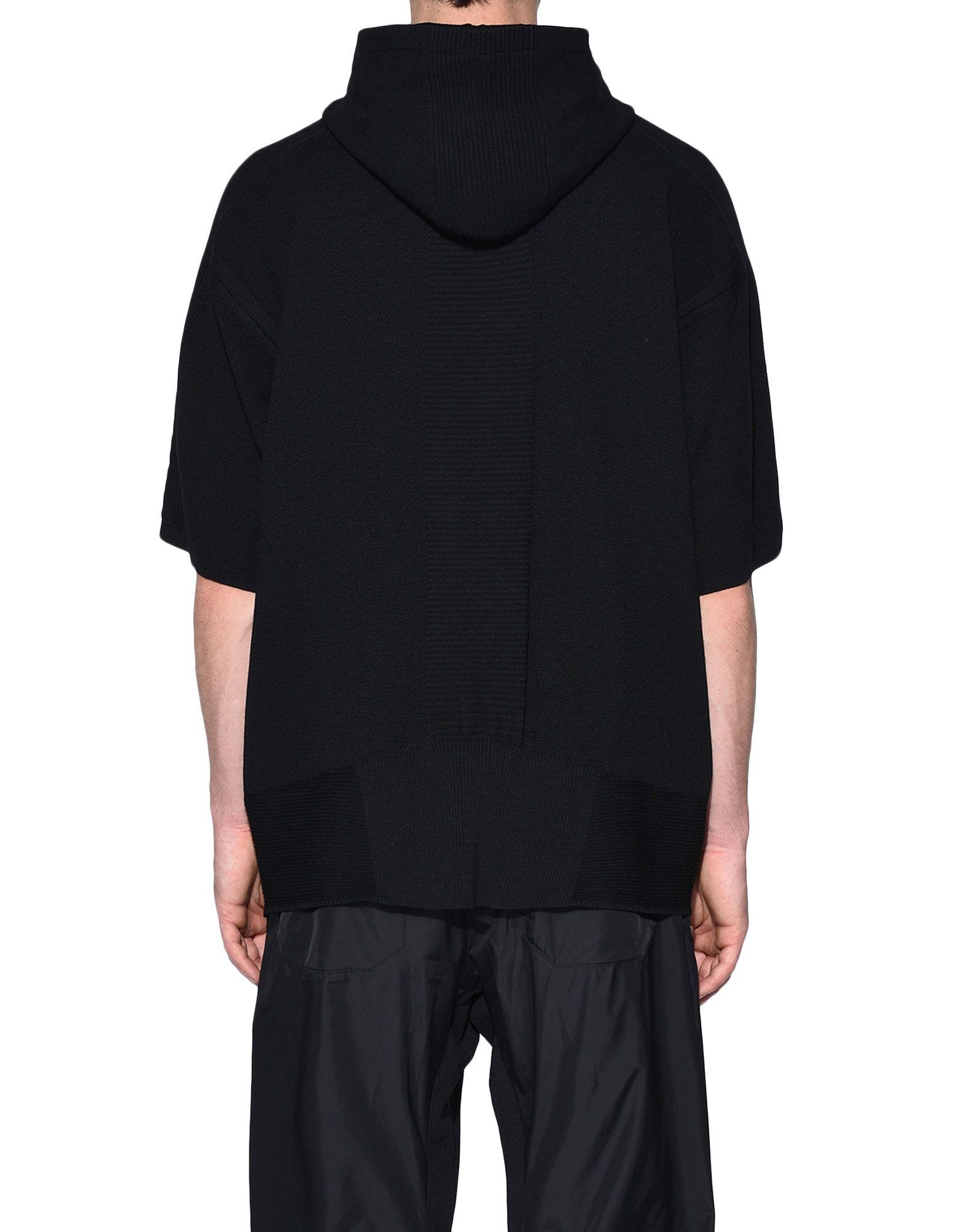 Y-3 Y-3 Tech Wool Hoodie Short sleeve jumper Man d