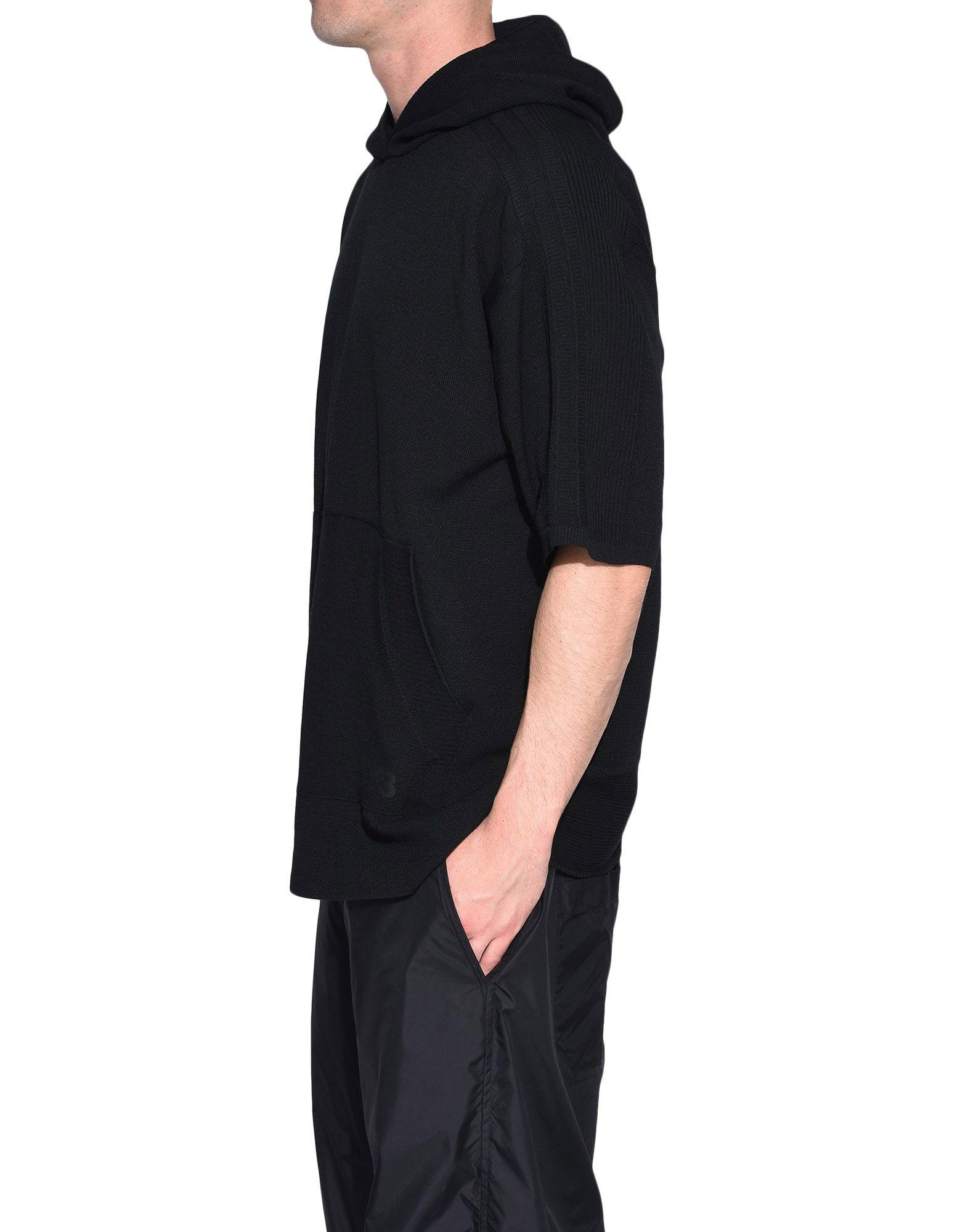 Y-3 Y-3 Tech Wool Hoodie Short sleeve jumper Man e