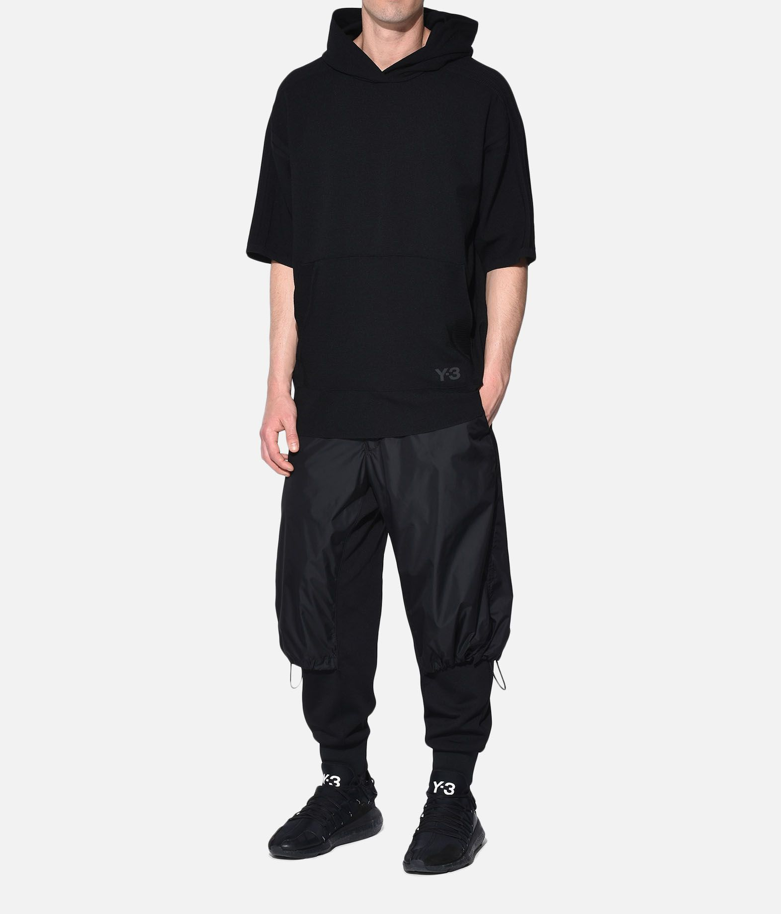 Y-3 Y-3 Tech Wool Hoodie Short sleeve jumper Man a